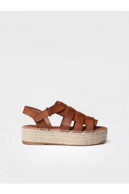 Leather espadrilles - ANGLES