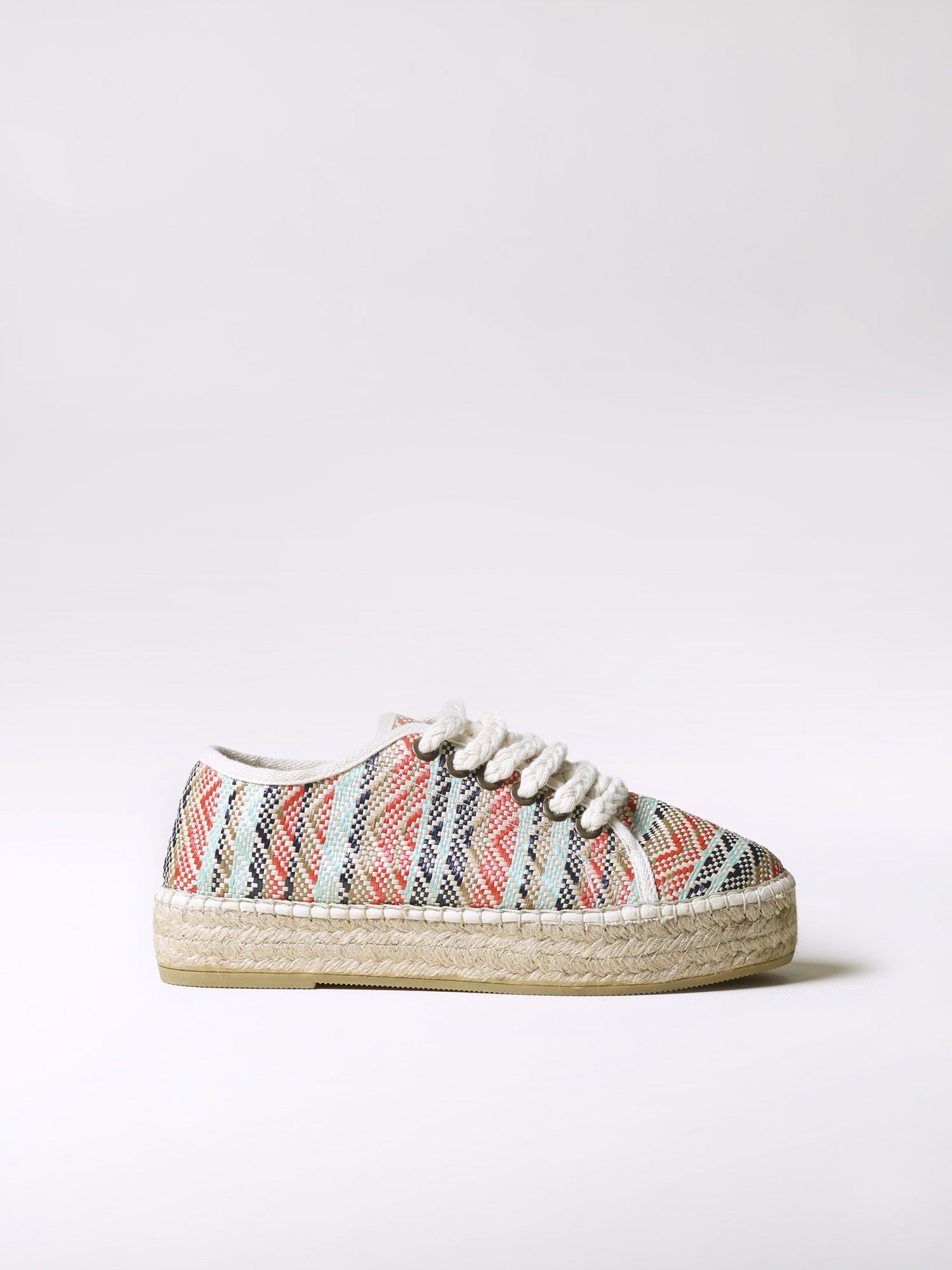 Sporty lace up espadrilles - FEDRA-KD