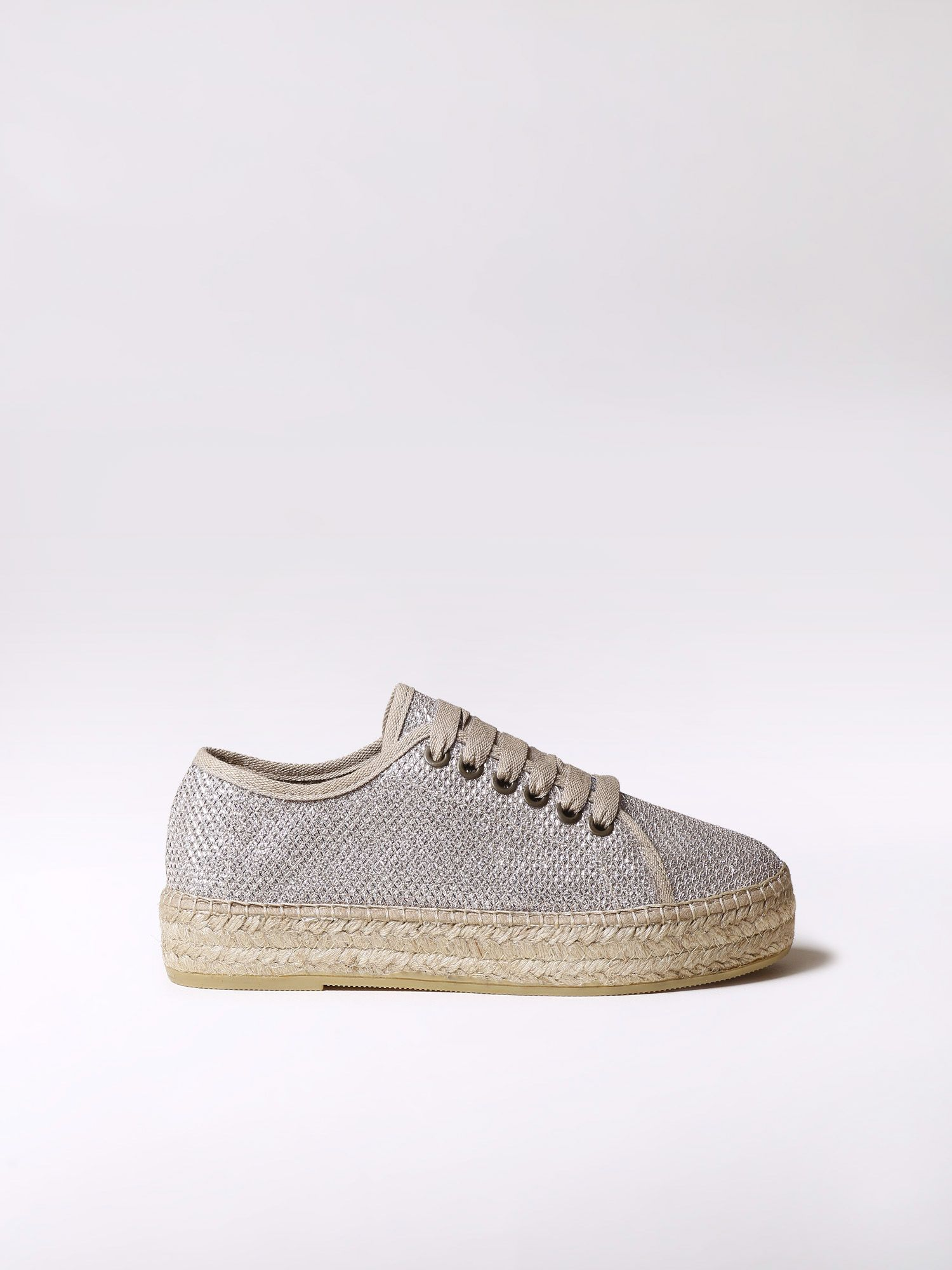 Sporty lace up espadrilles - FEDRA-S