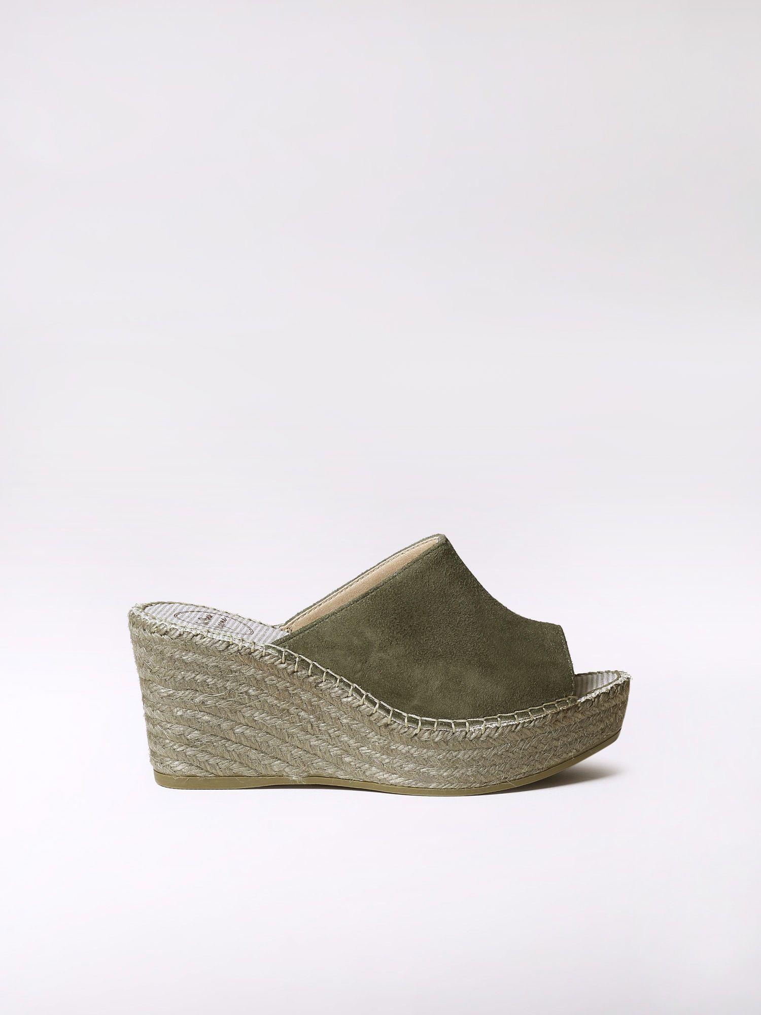 Flatform espadrille clog design - LORENA-A