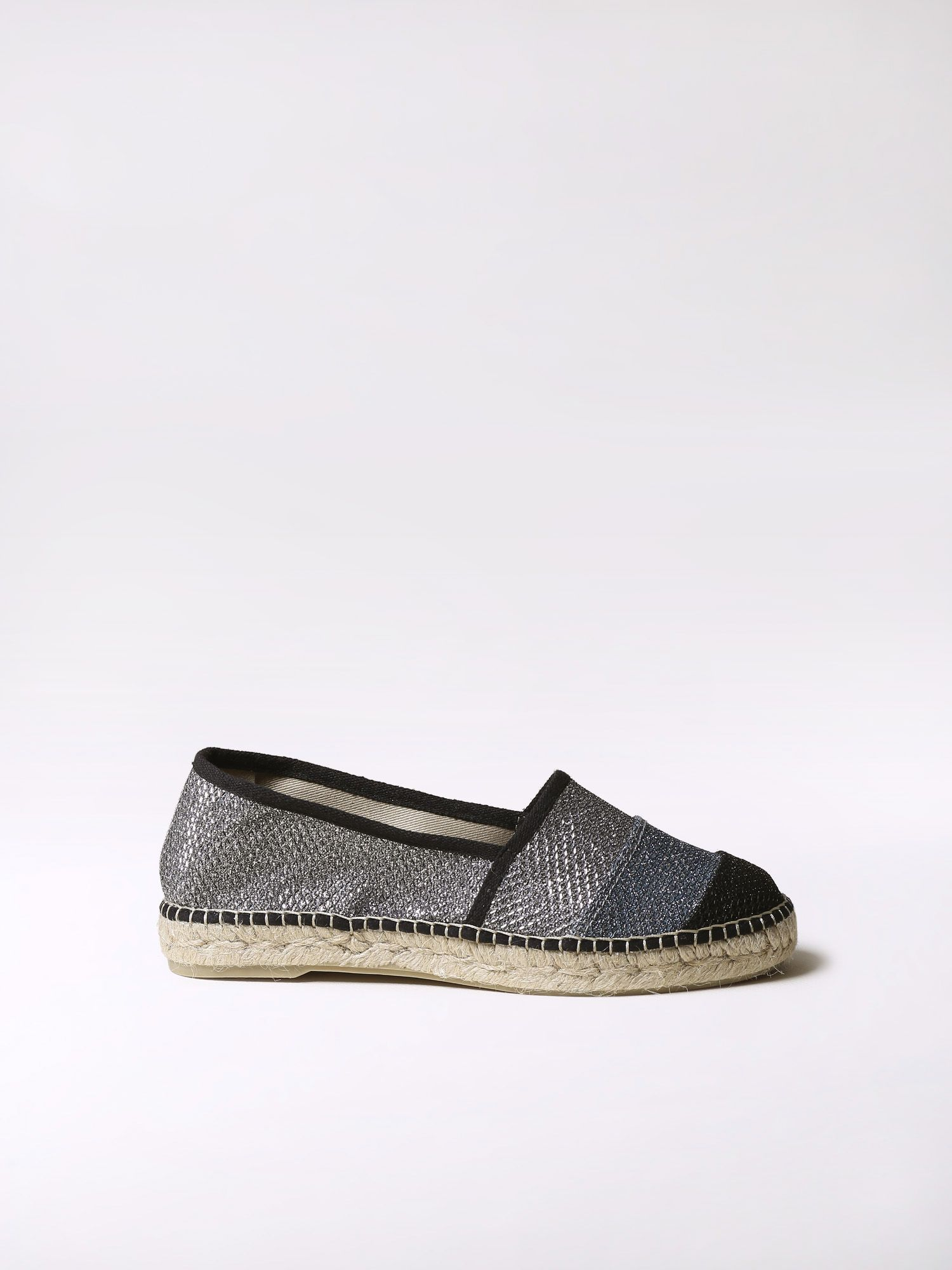 Tricolor espadrille flats - ROMY-S