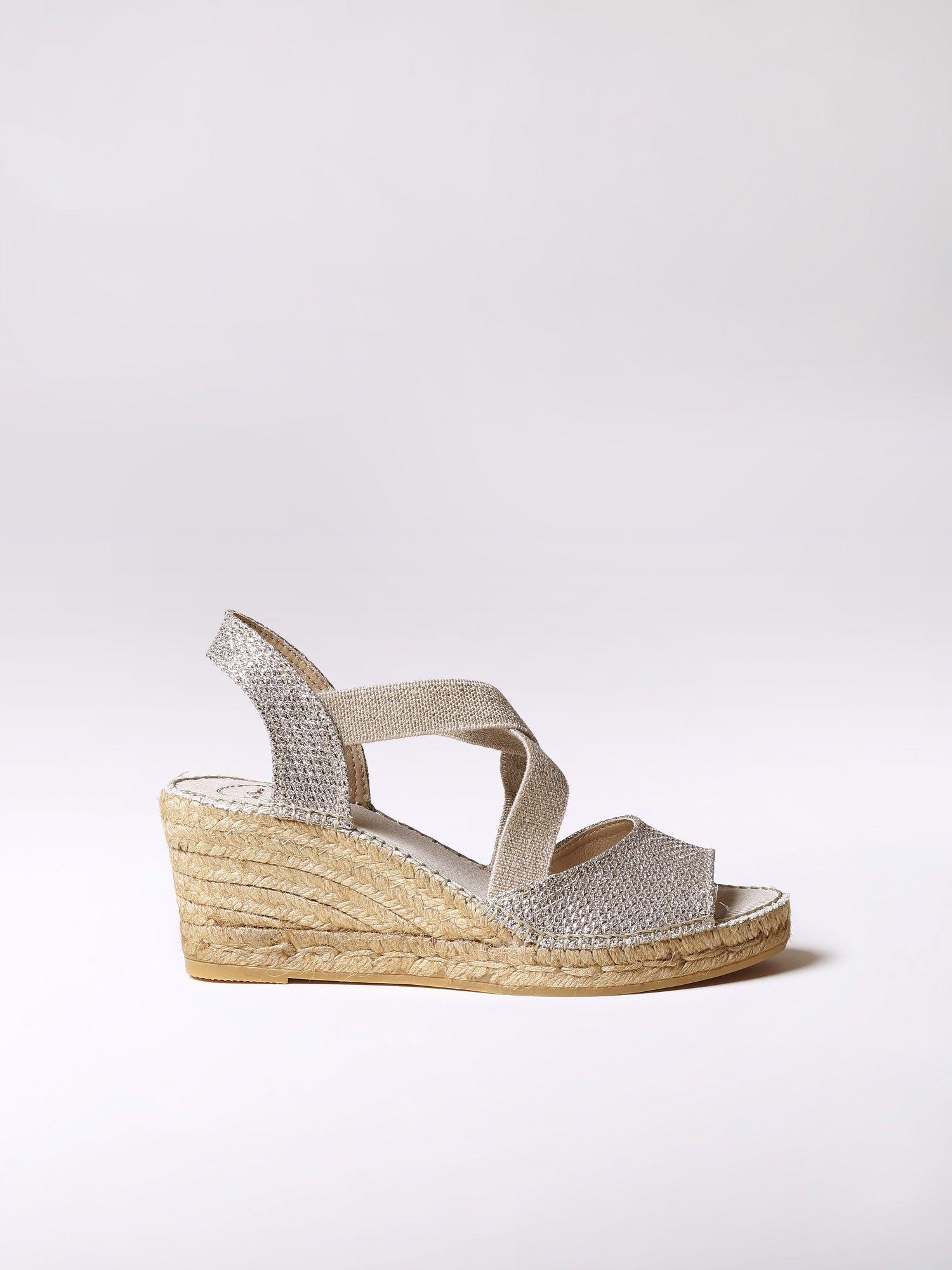 Vegan espadrilles heel - SOL-S