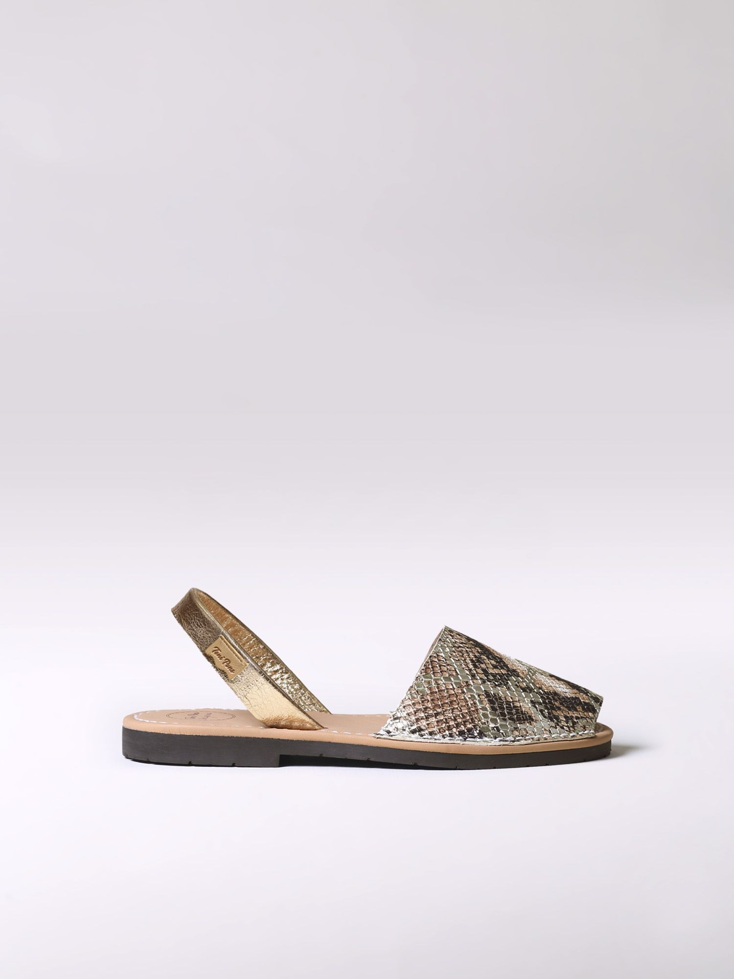 Leather menorquine sandal - MAO-MK