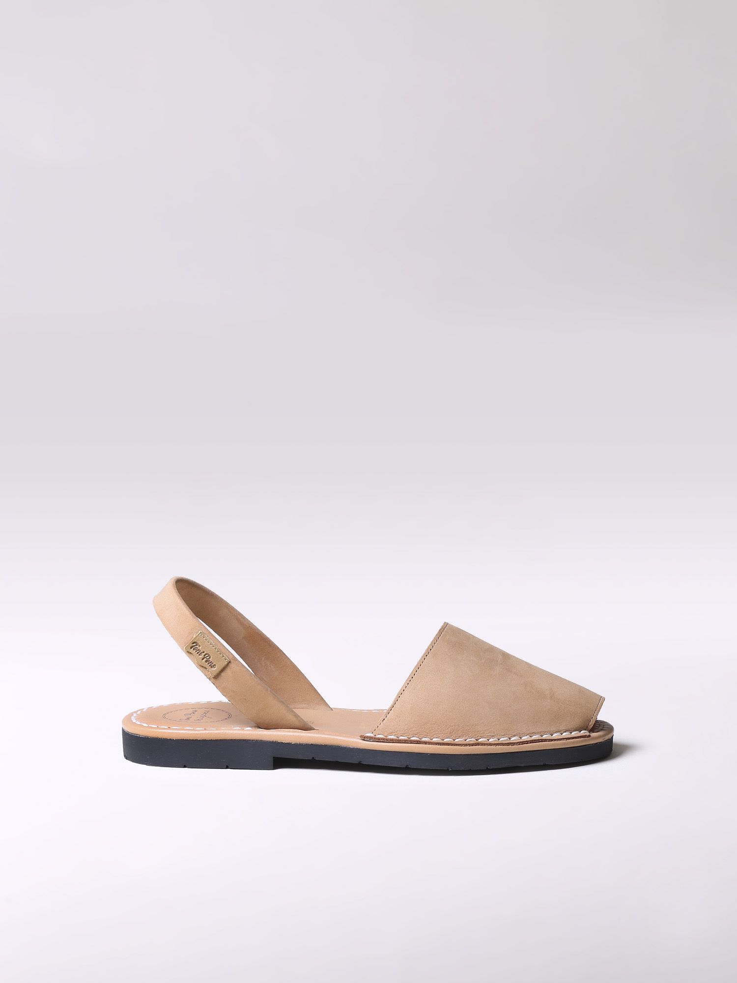 Nobuck leather avarca sandals - MAO-N