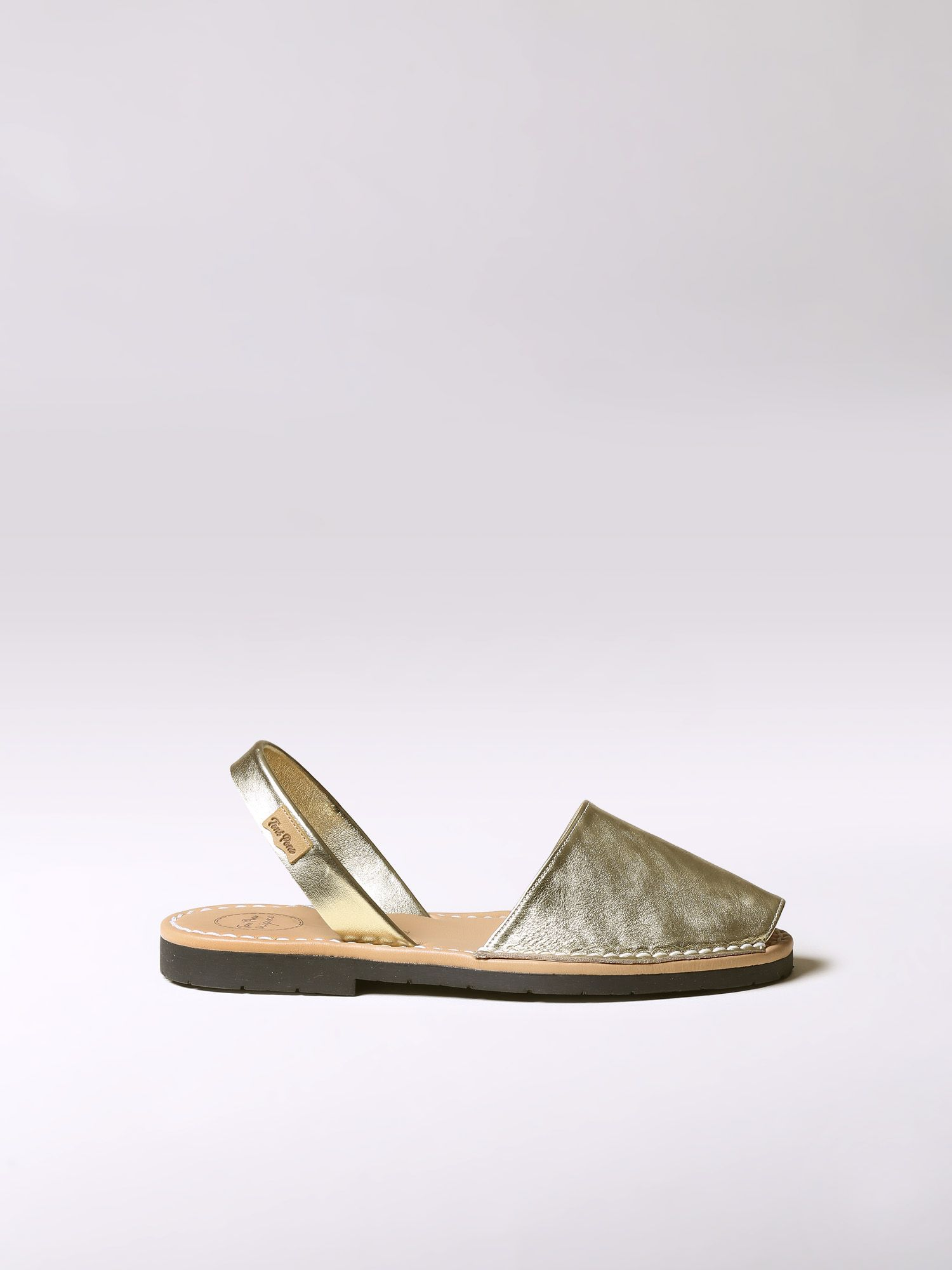 Leather avarca sandal - MAO-P