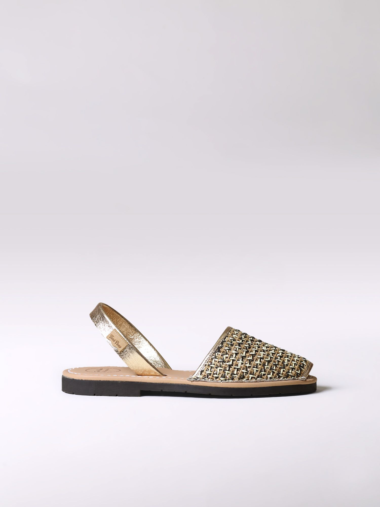 Leather avarca sandal - MAO-PA