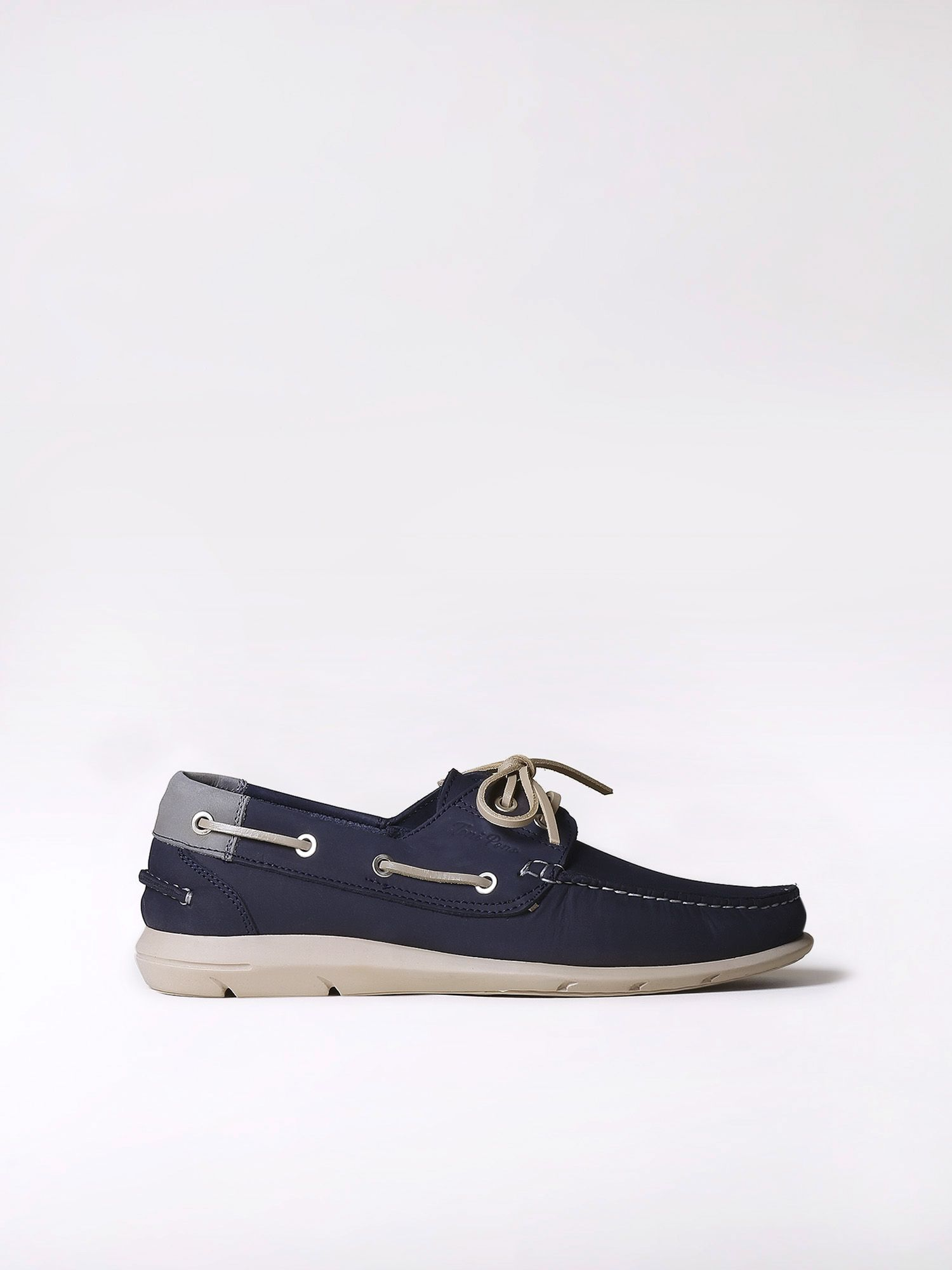 Leather boat shoes - DUC-N