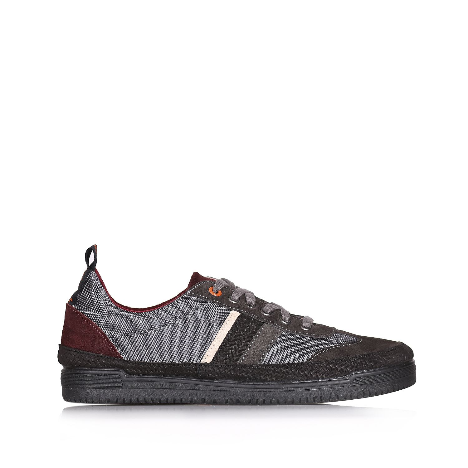 Men sneaker in fabric and split leather - GASP-TC