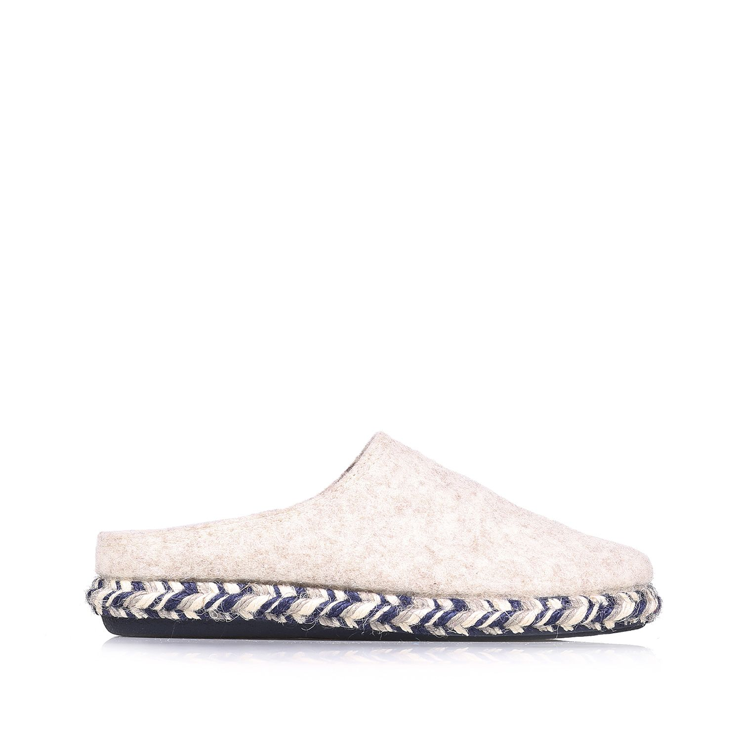 Slippers in fabric with fur lining - MIRI-FP