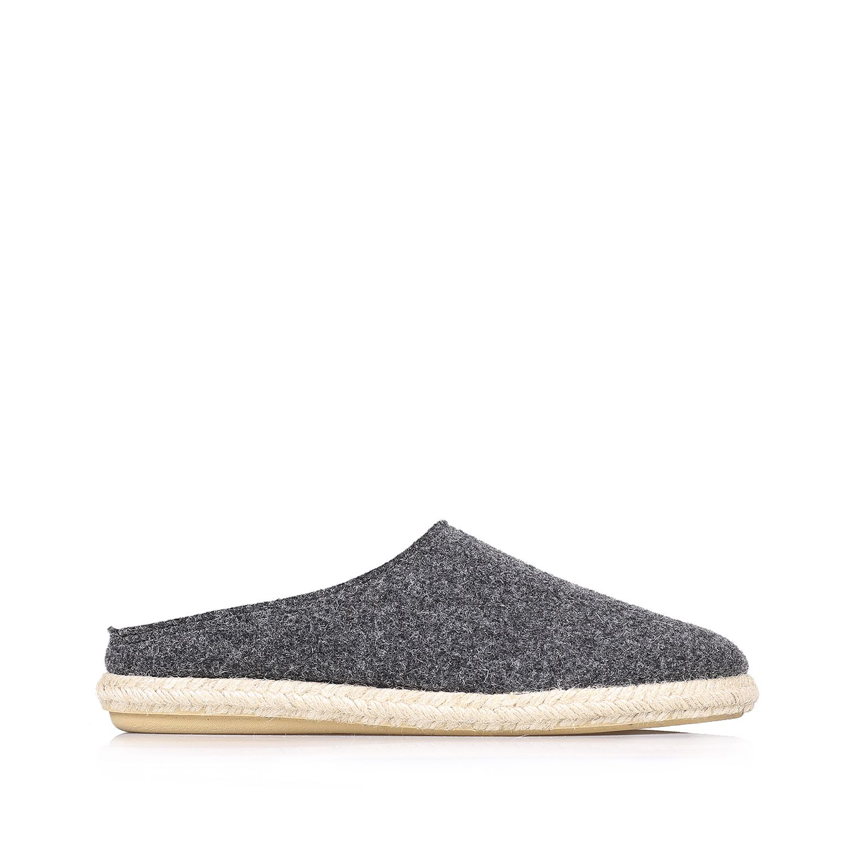 Men's slippers in wool felt - NABOR-DB