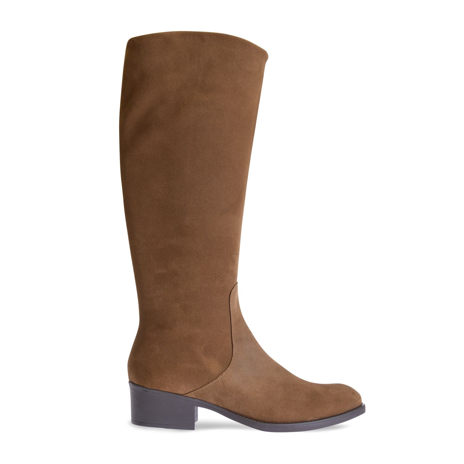 High leg boot in suede - TIROL-SY