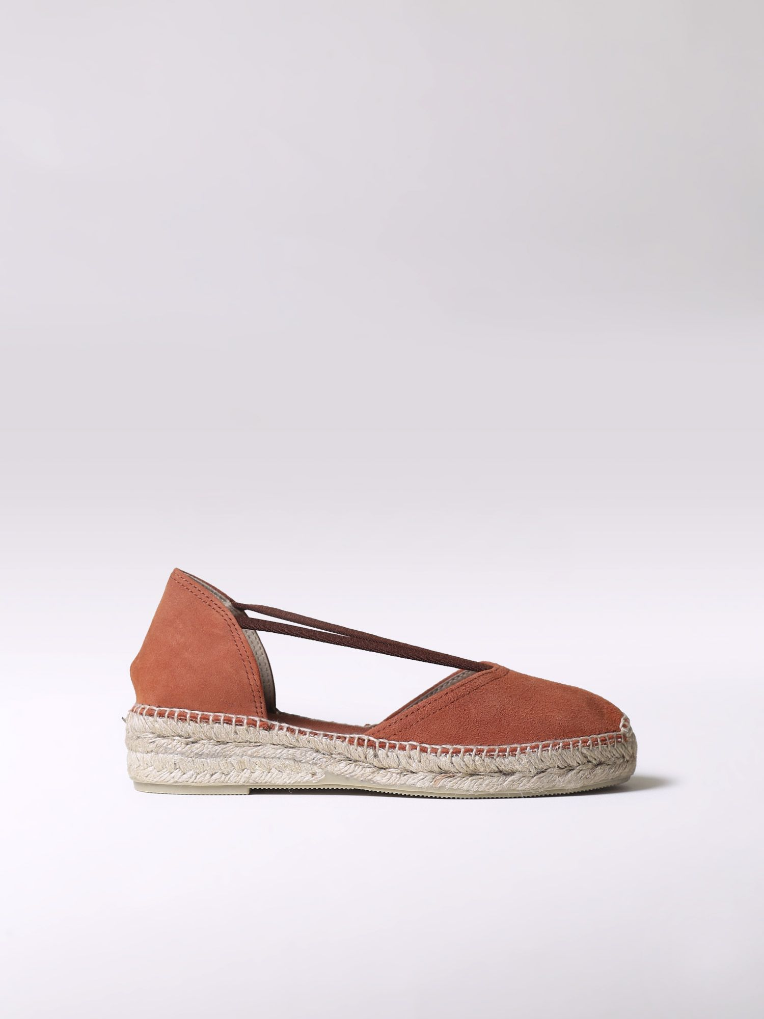 Low espadrille with elastics - ERLA-A