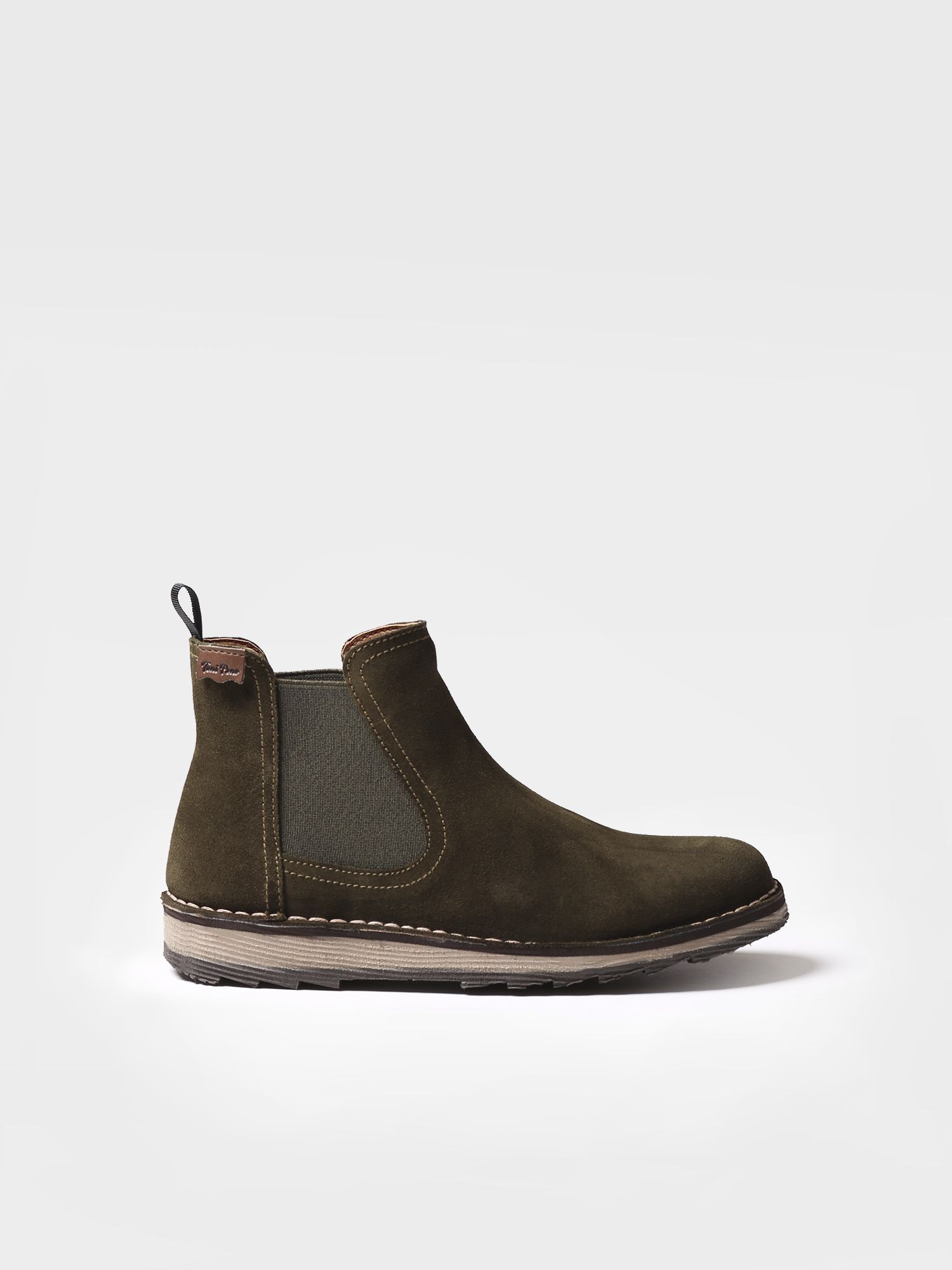Ankle boot for women made of suede - ISONA-SY