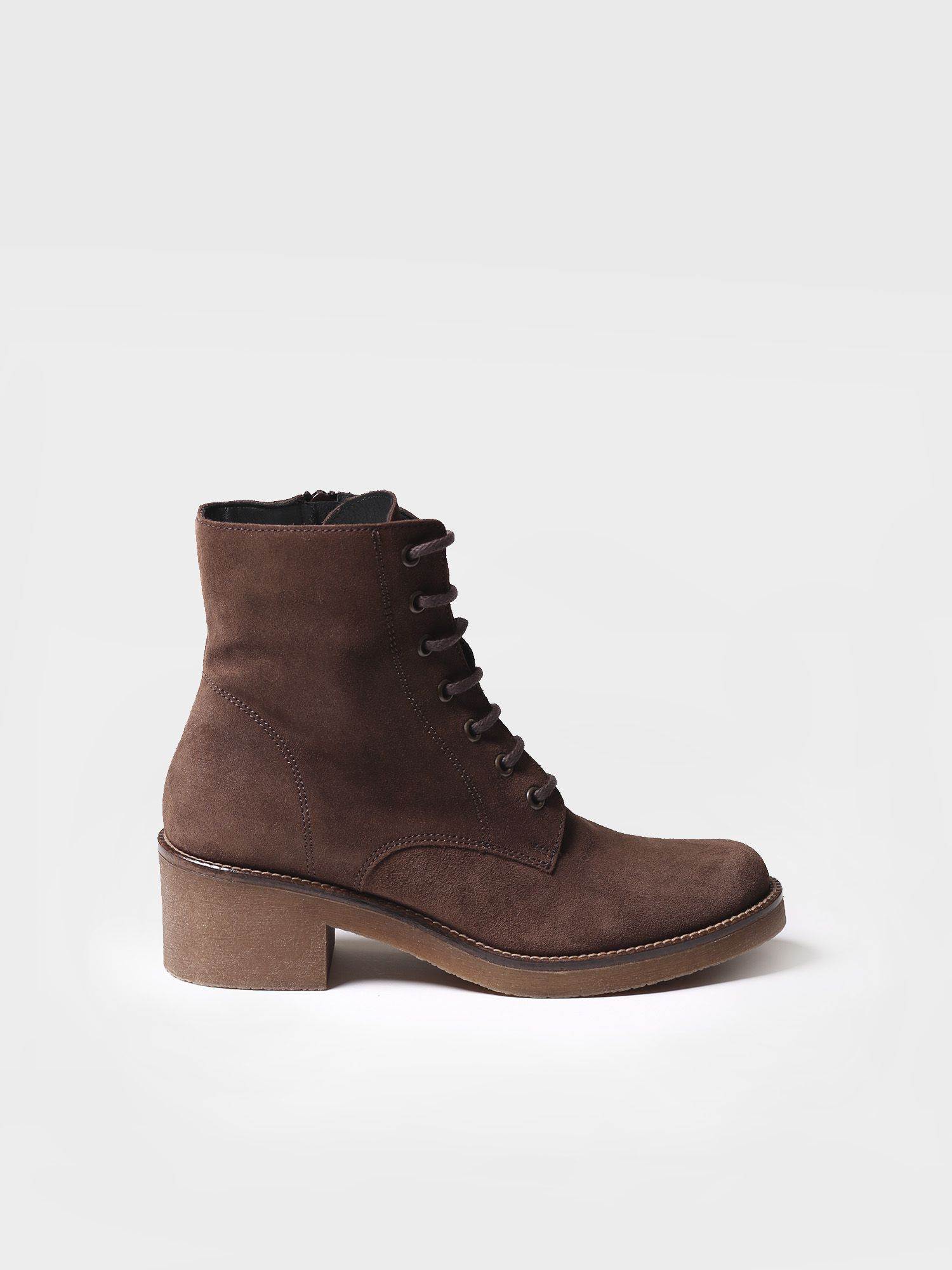 Woman ankle boot made of suede - PAVIA-SY
