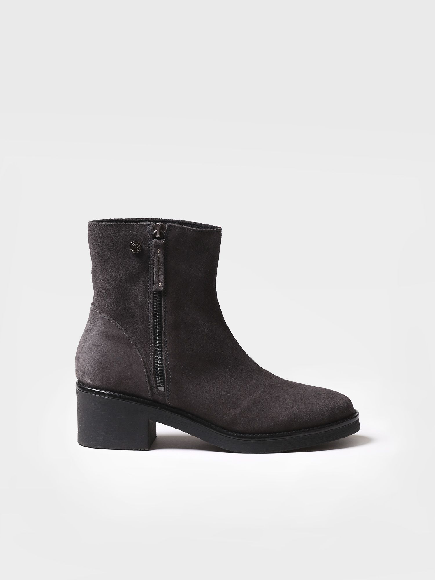 Ankle boot for women made of suede - PRATO-SY