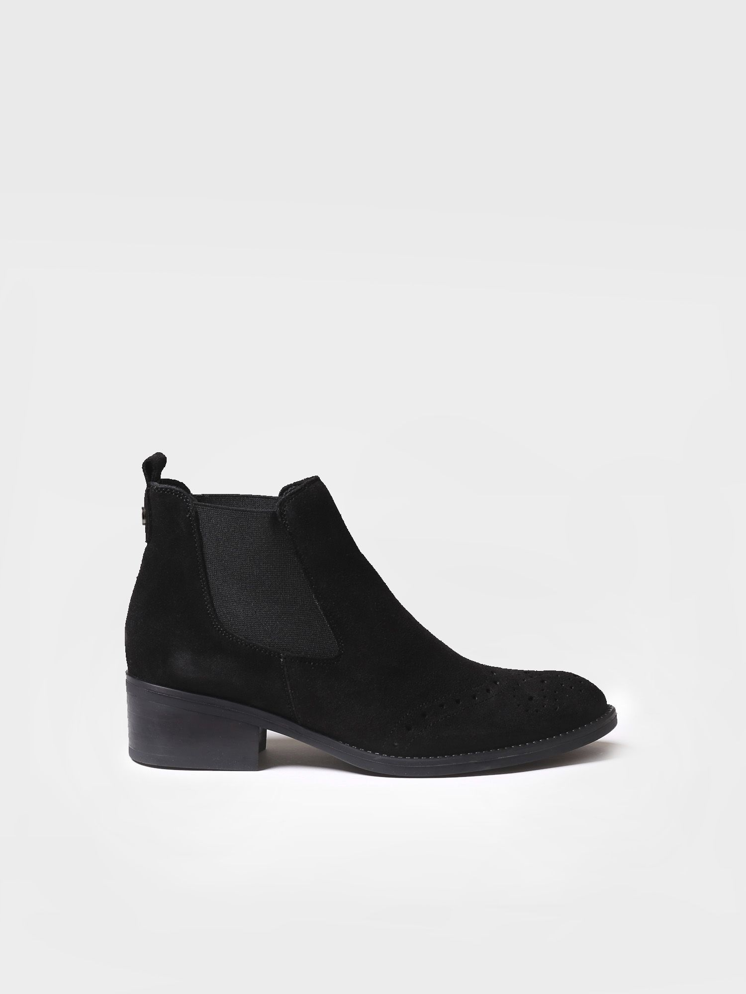 Ankle boot for women made of suede - TIVAT-SY