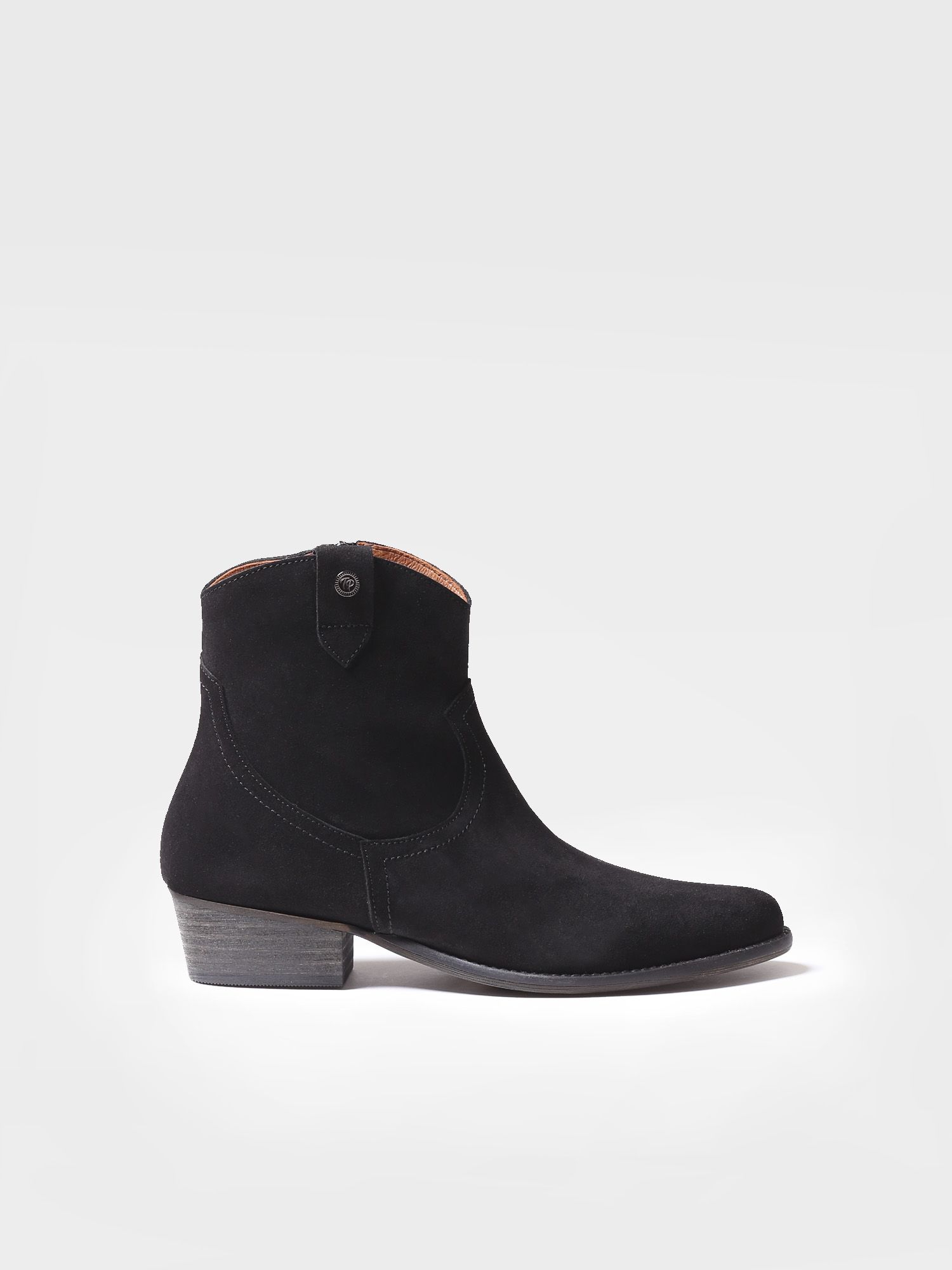 Ankle boot for women made of suede - URBAN-SY