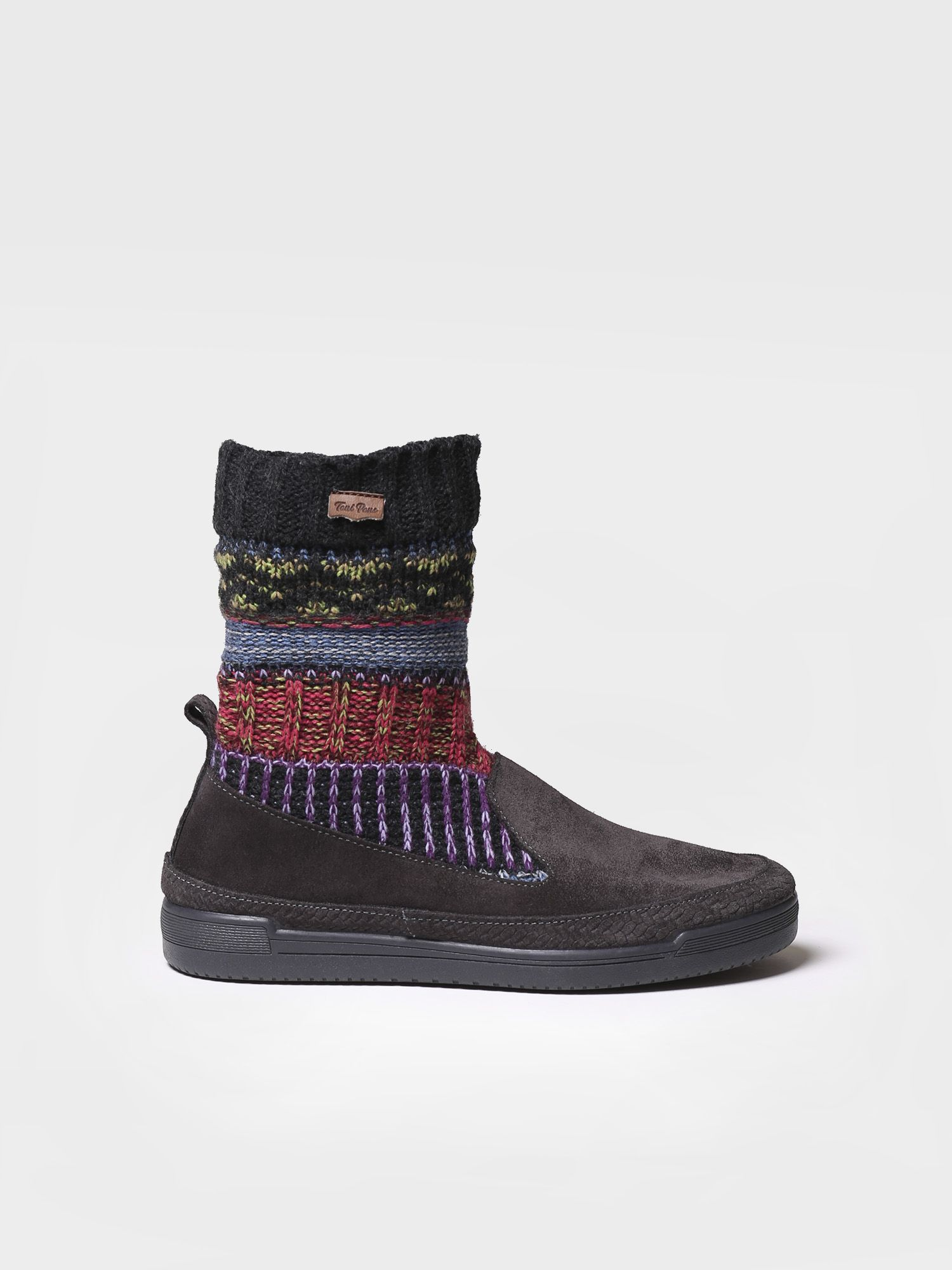 Sneaker for women made of suede and wool - GORA-AF