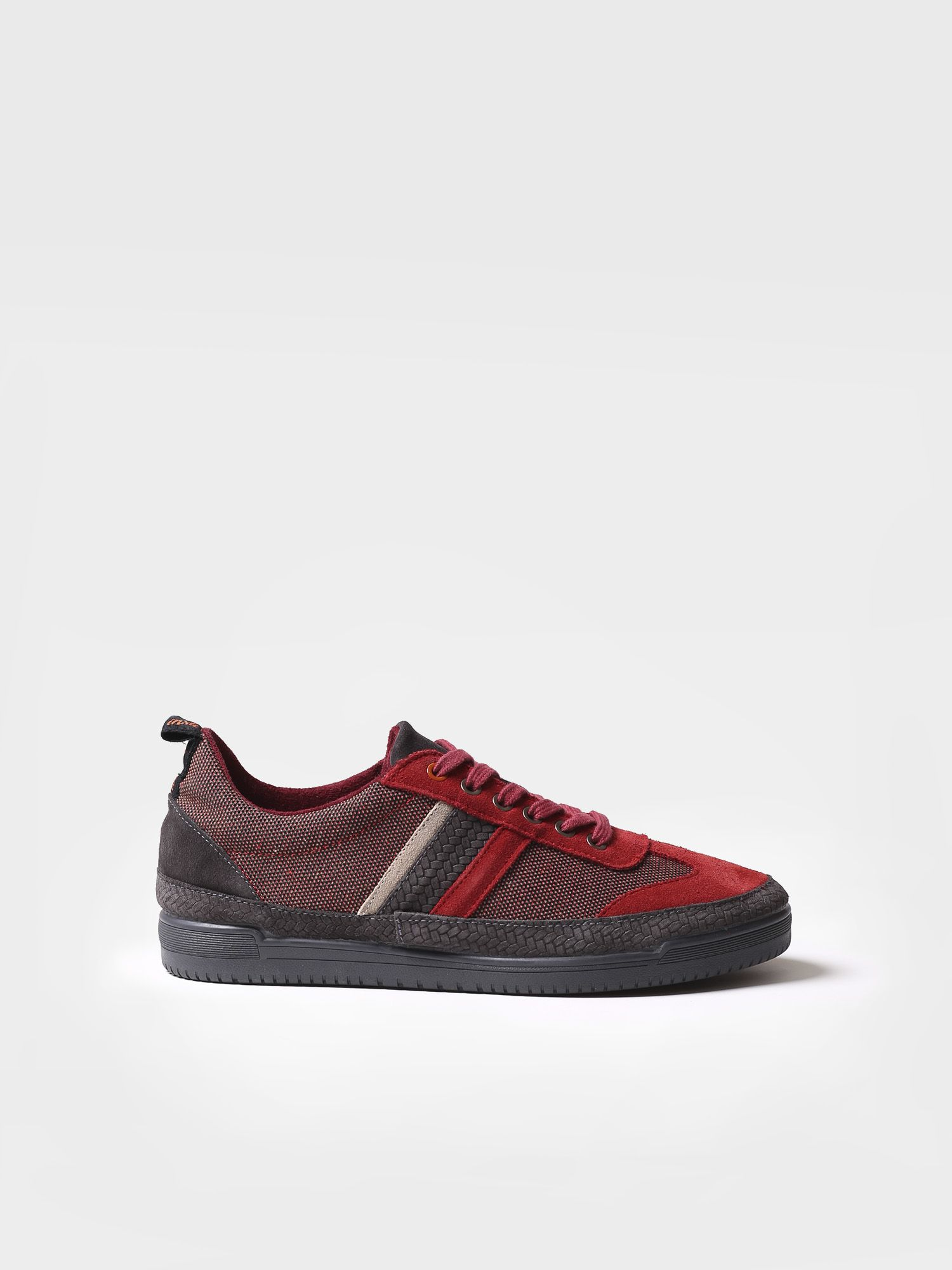 Sneaker for men made of fabric and suede - GASP-TC