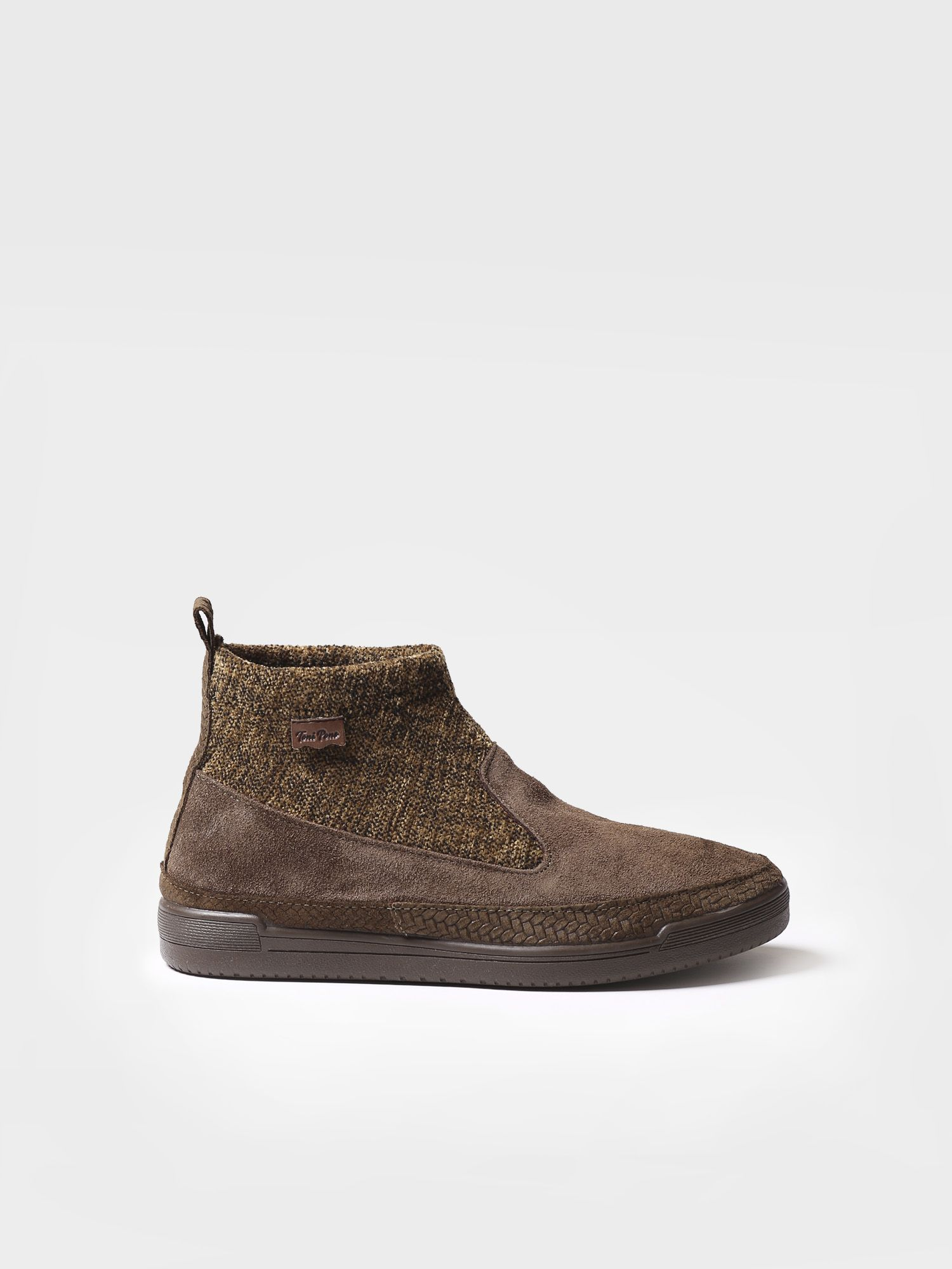 Ankle boot for women made of suede - GIGI-ST