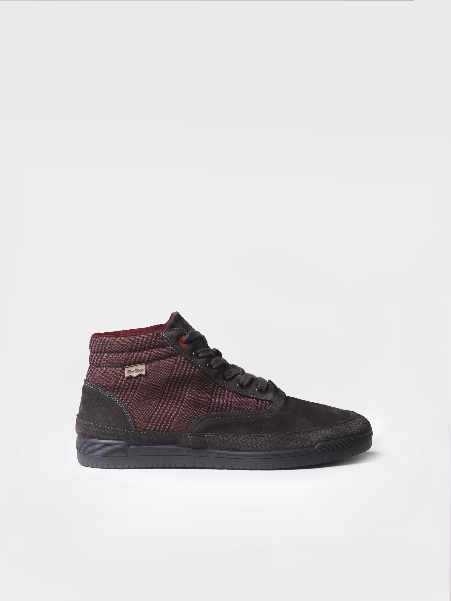 Sneaker for men made of cotton and suede - GUS-CA