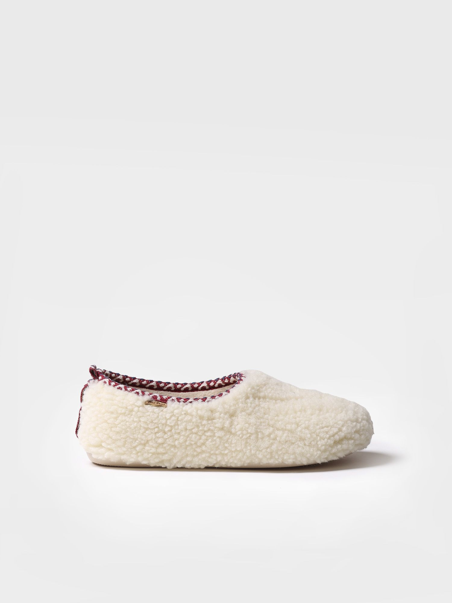 Slipper for women made of fabric - MARTA-SH