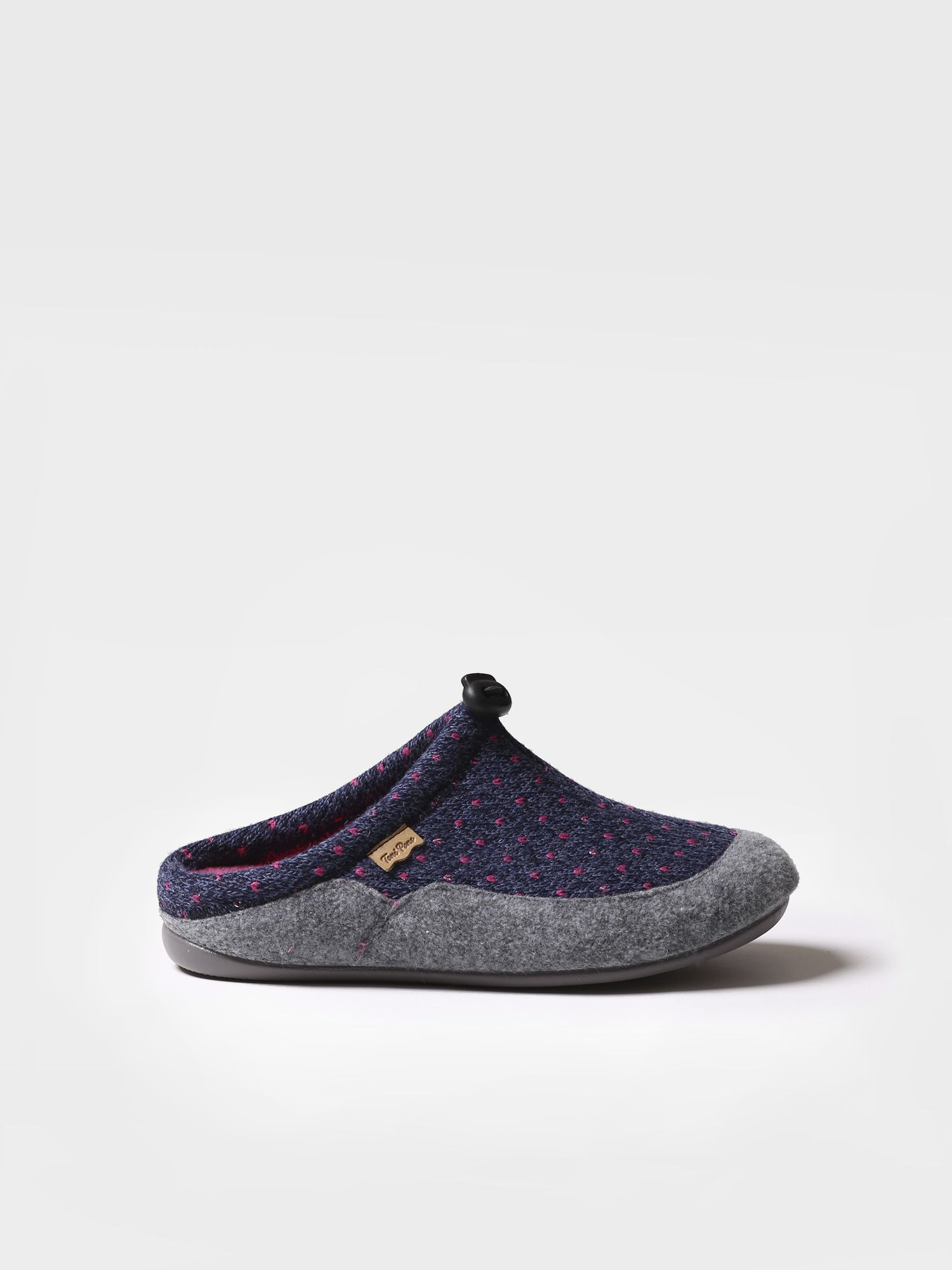 Slipper for women made of felt - MEL-LO