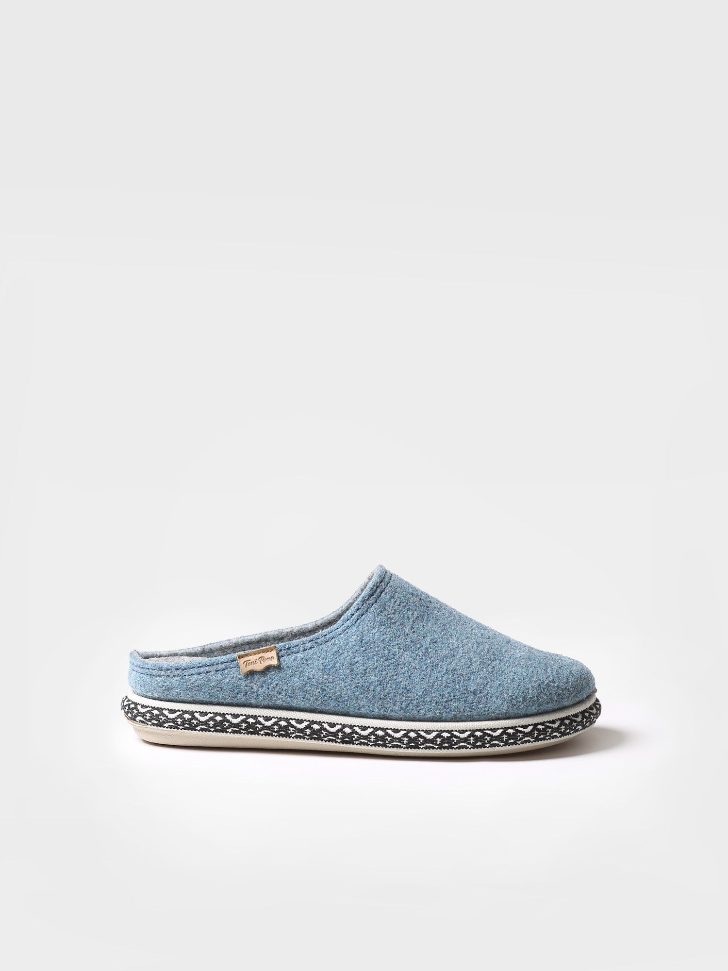 Slipper for woman made of felt - MIRI-CD