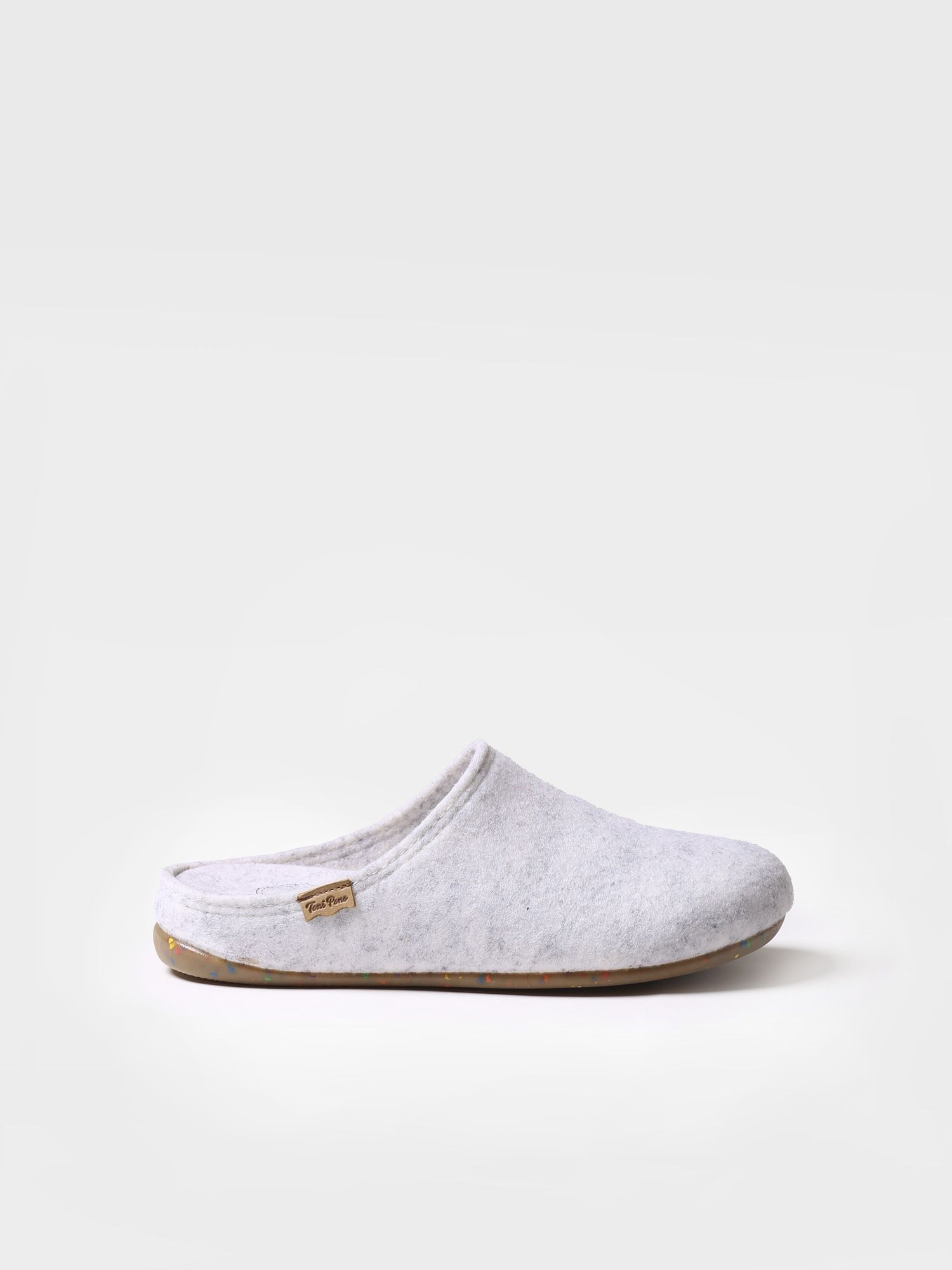 Slipper for woman made of recycled felt - MONA-FR