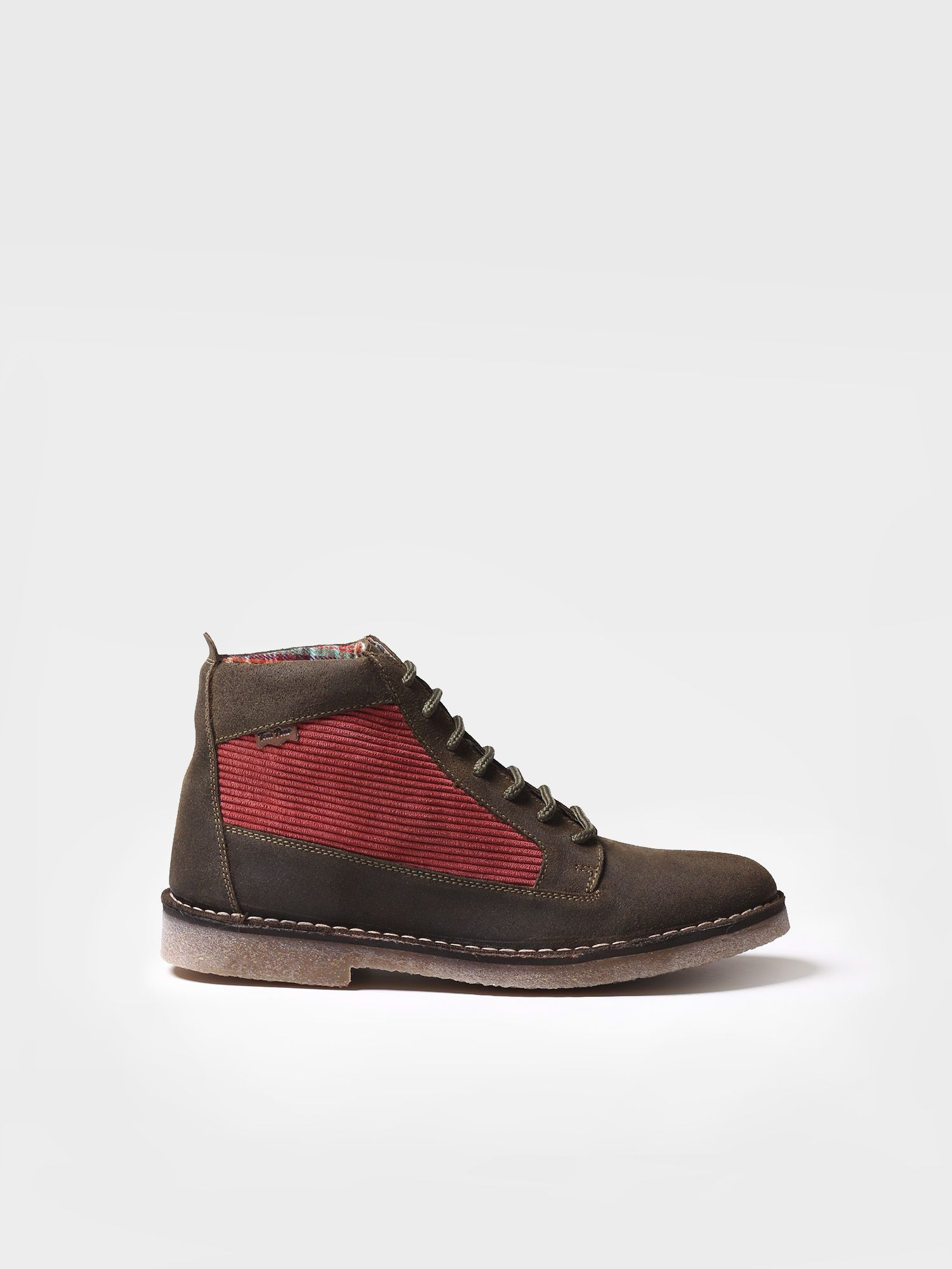Ankle boot for men made of suede - JANSEN-PN