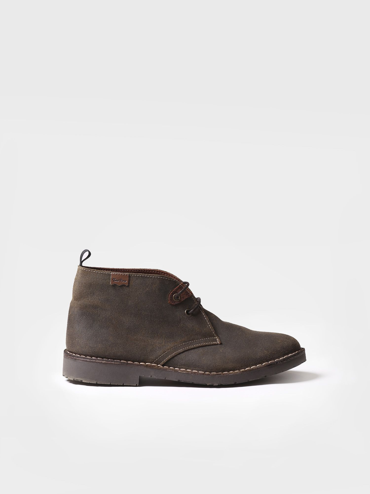 Ankle boot for men made of suede - JUST-SW