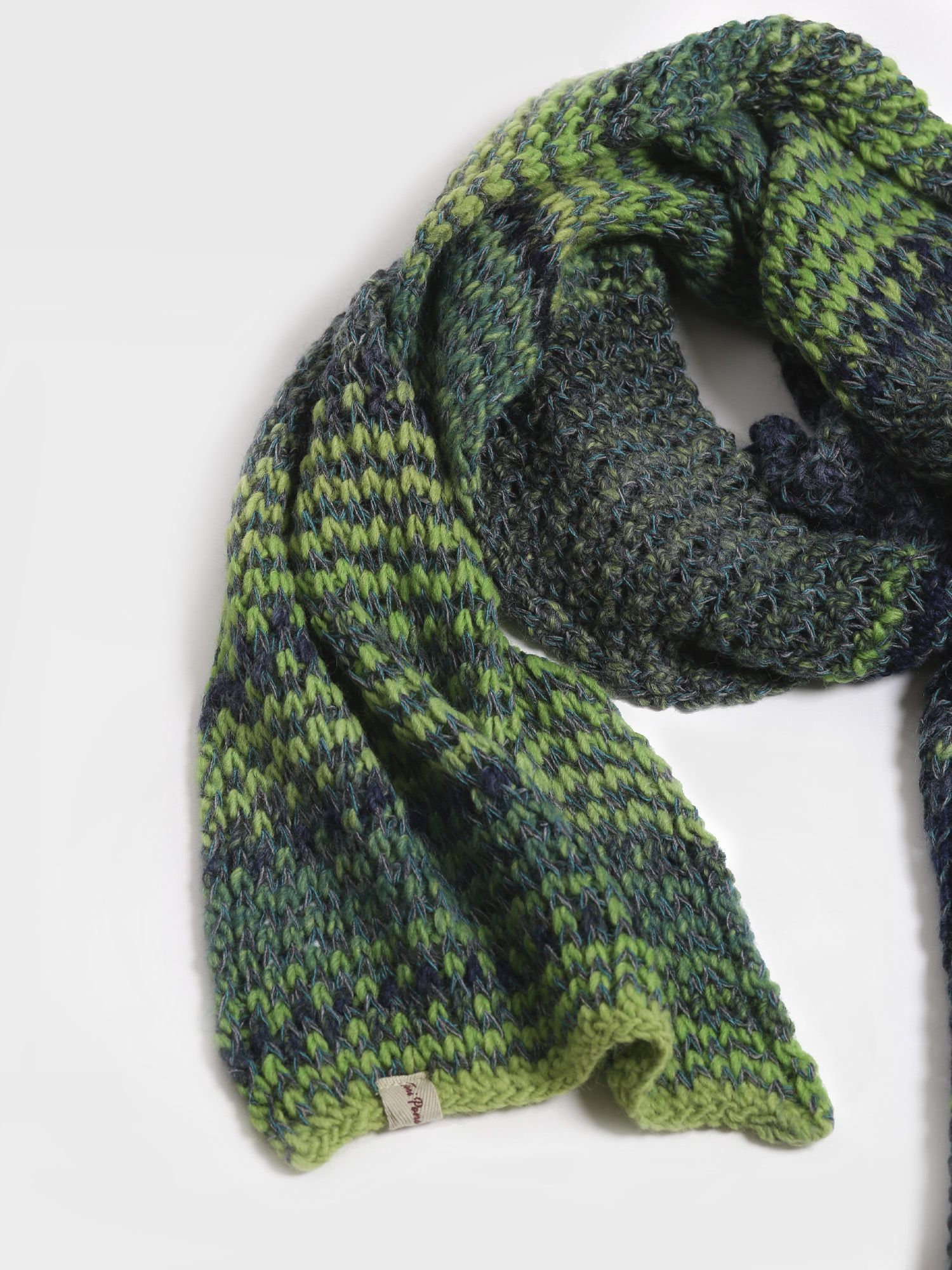 Accessories for women, scarf made of wool - FURA