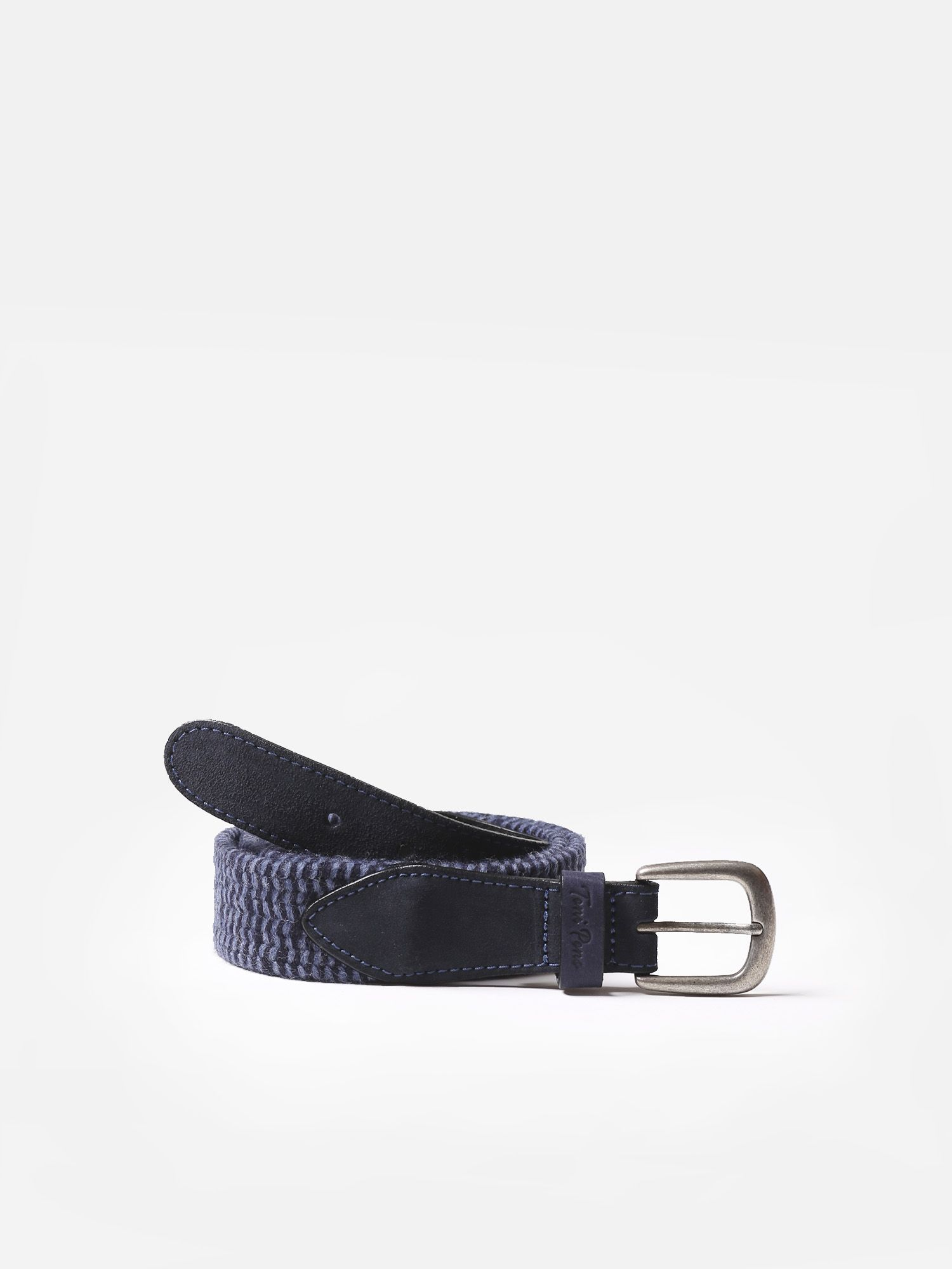 Accessories for men, belt made of leather and fabric - ELVIS