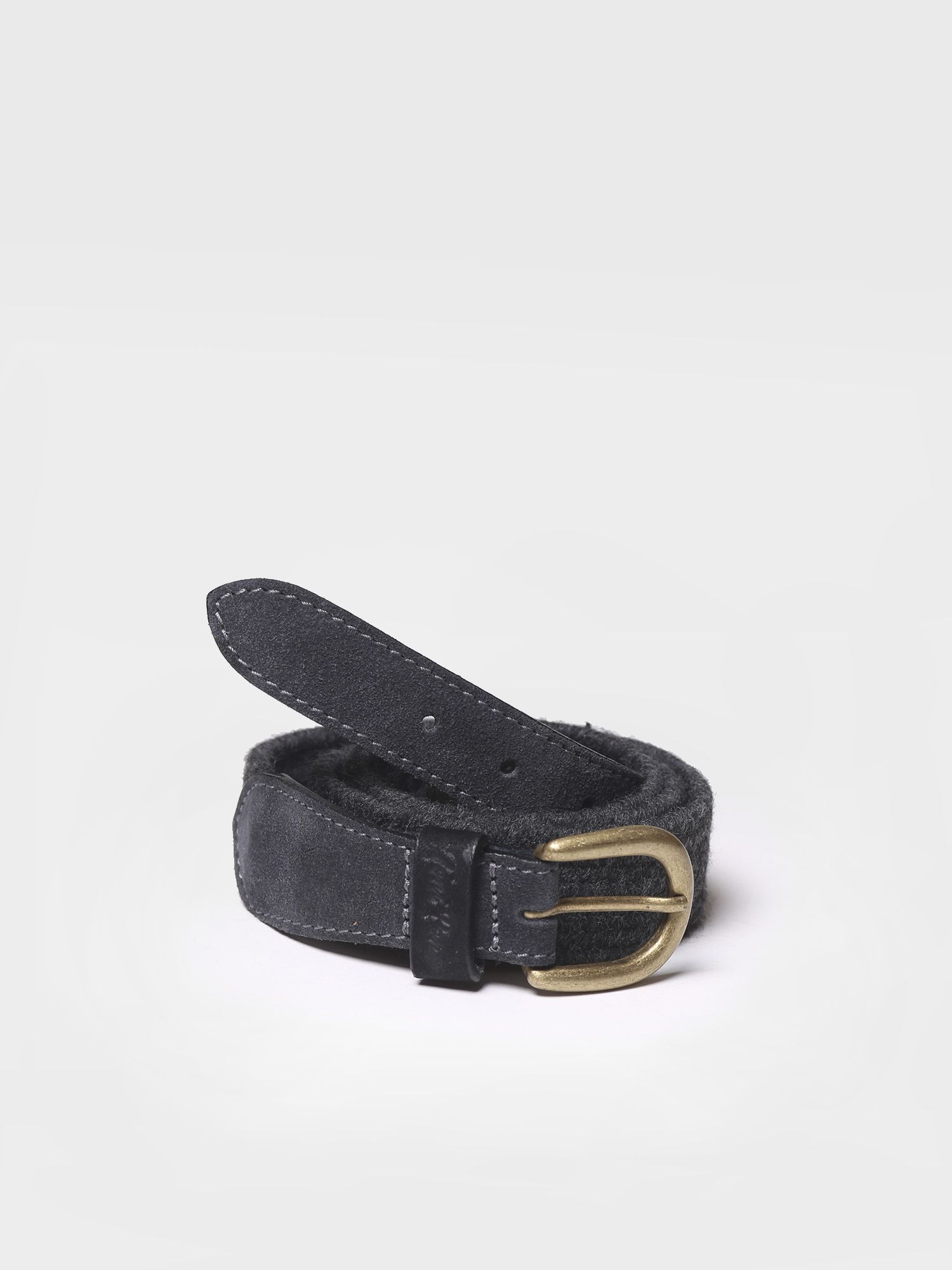 Belt in elastic fabric in grey shades - NALA