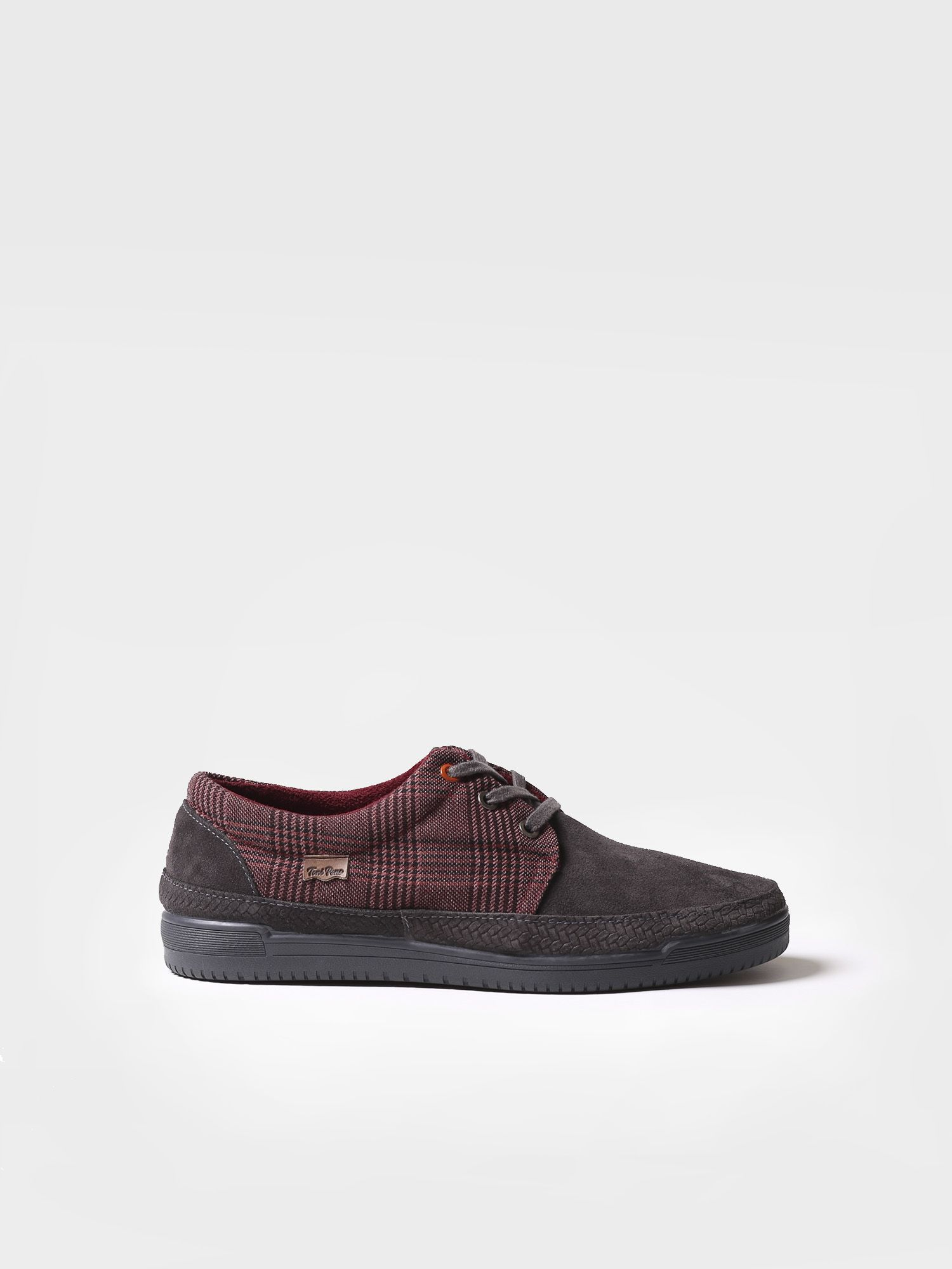 Sneaker for men made of cotton and suede - GENIS-CA