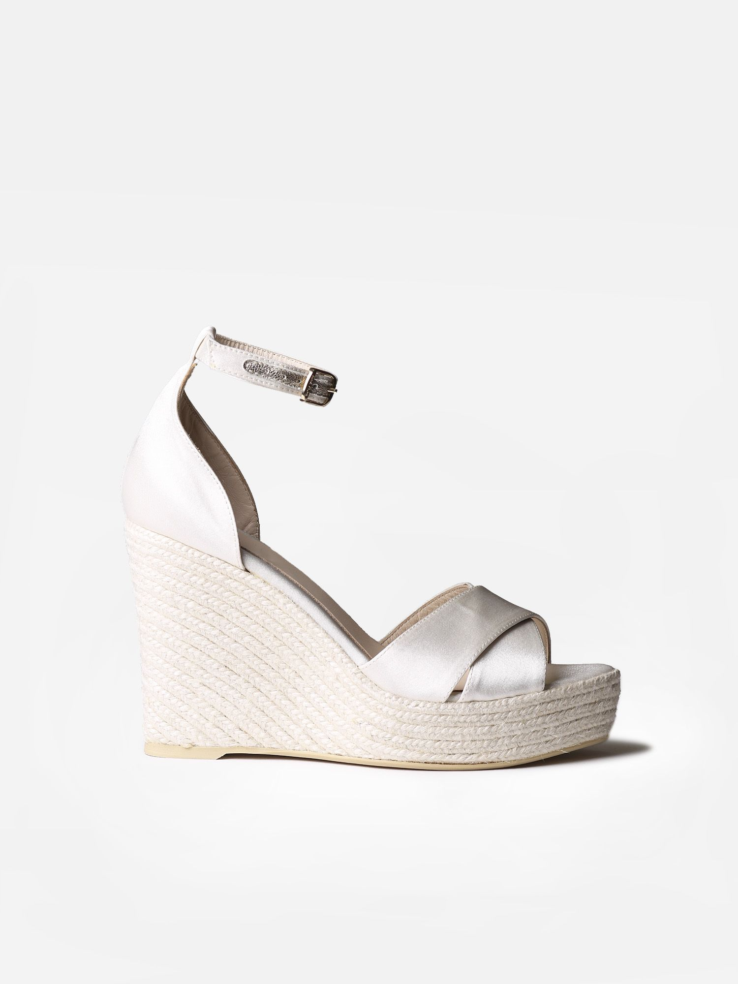 Bridal high wedge - JULIET