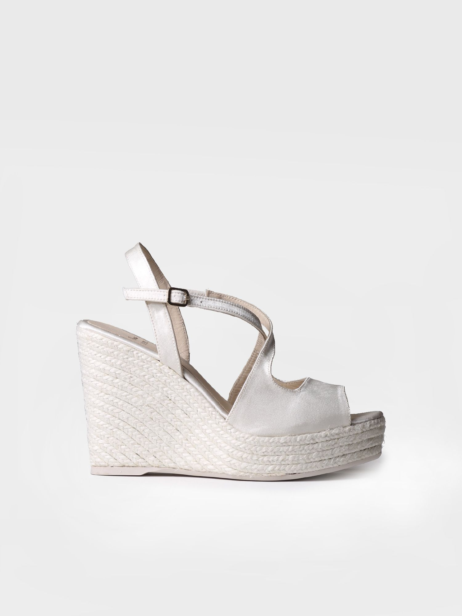 Bridal high wedge - JUSTINA