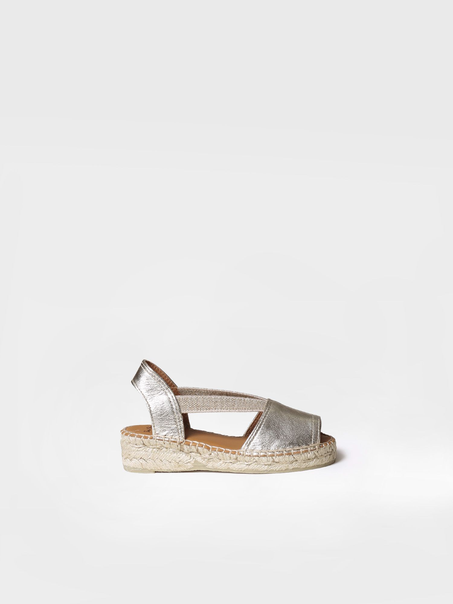 Leather espadrilles for kids - ELI-P