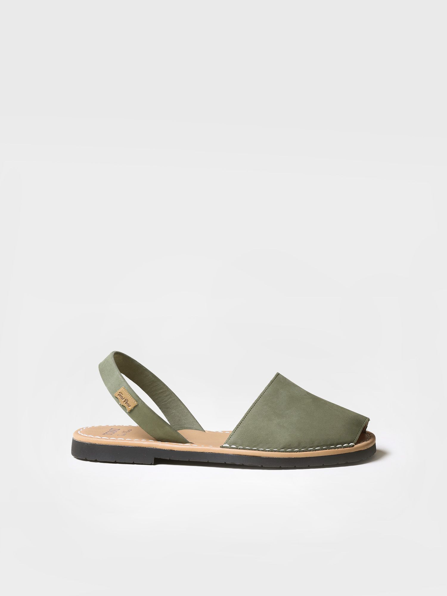 Avarca sandals Nobuck - GRAU-N