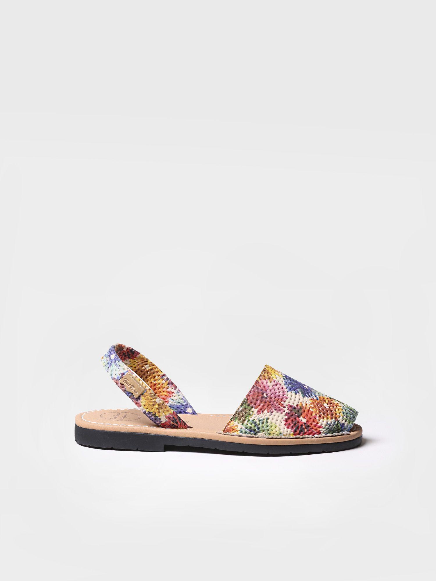 Leather menorquine sandal - MAO-DM