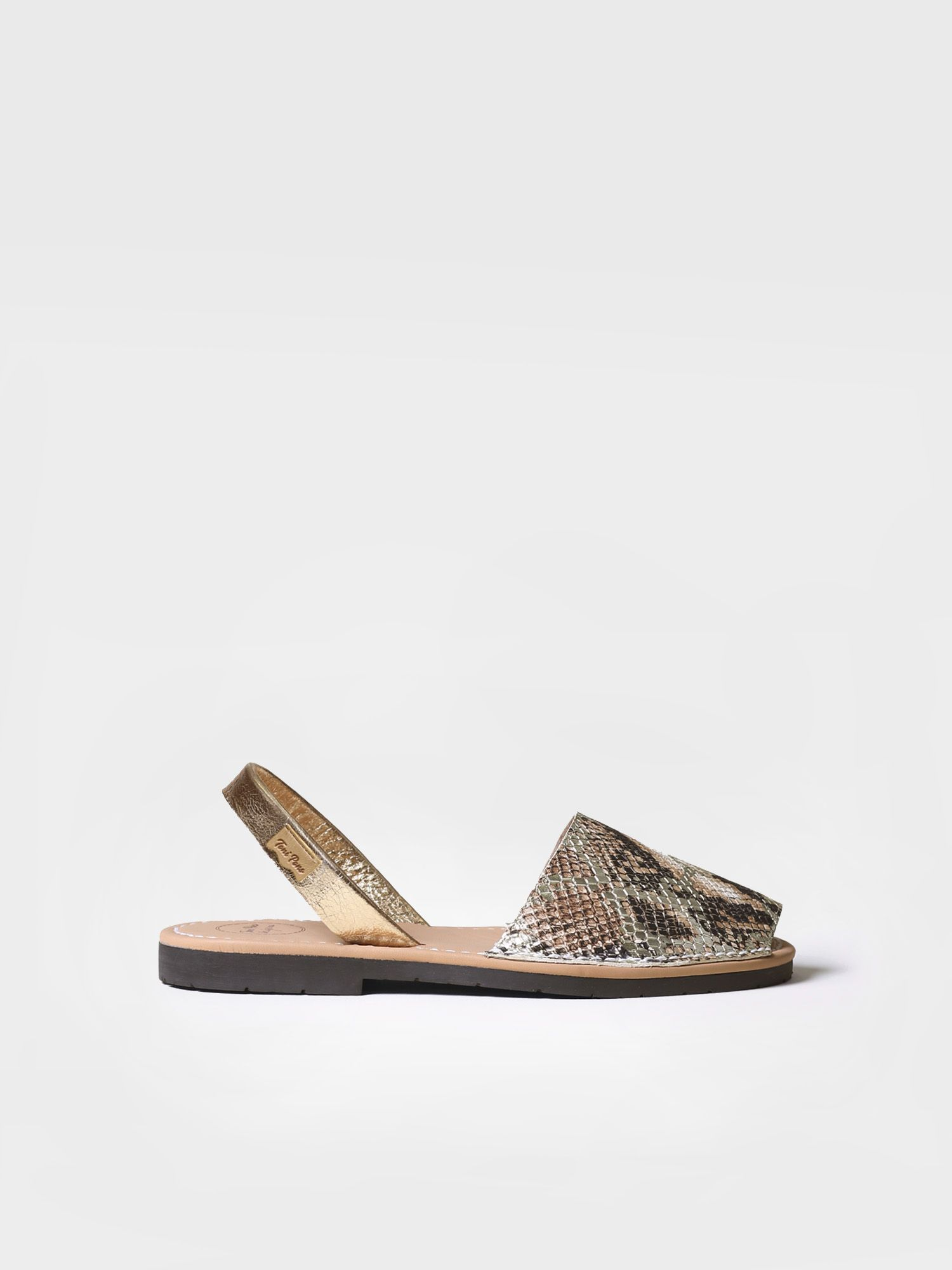 Leather menorquine sandal - MAO-MK