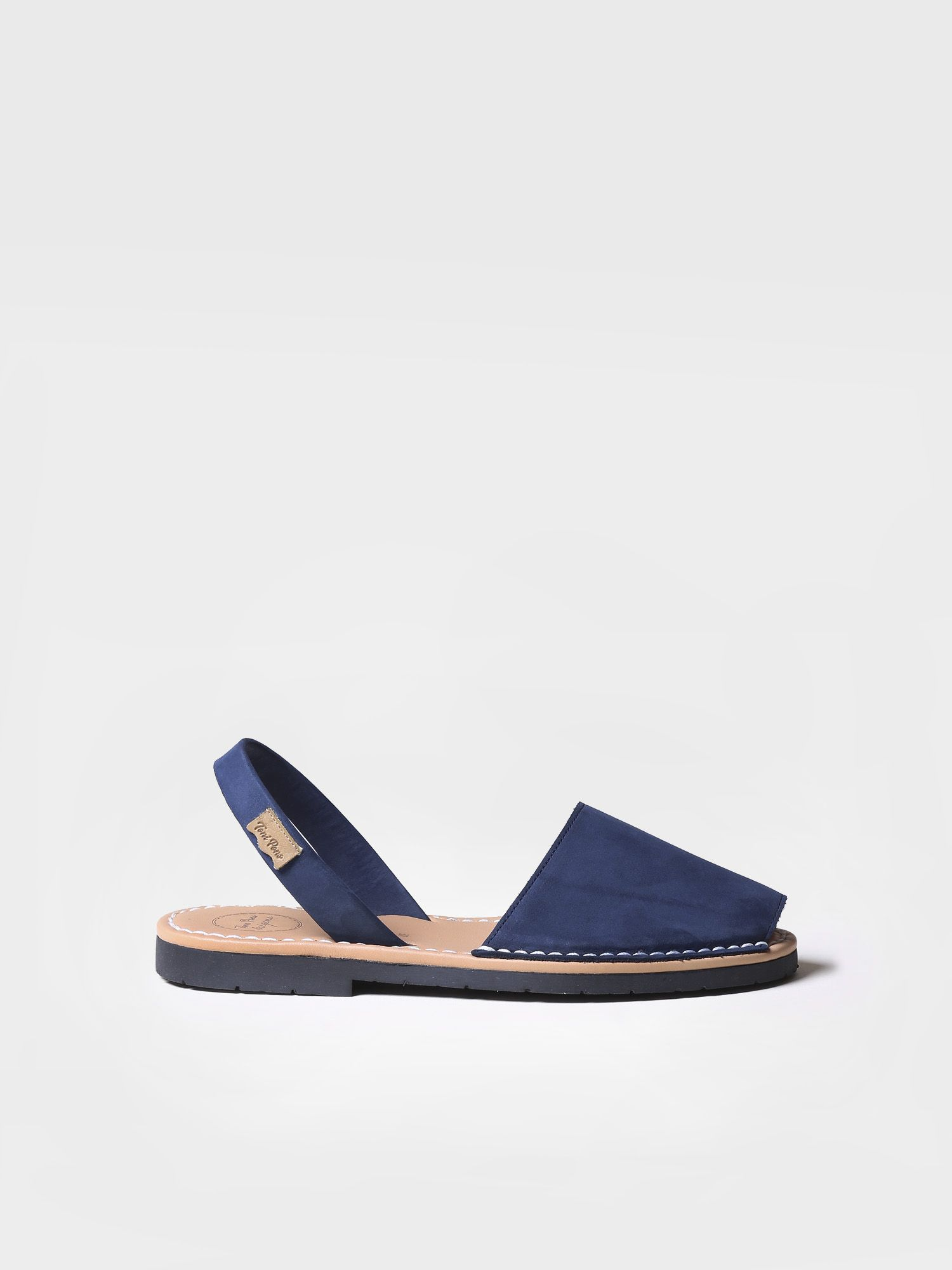 Nobuck leather avarca sandals - MAO-N