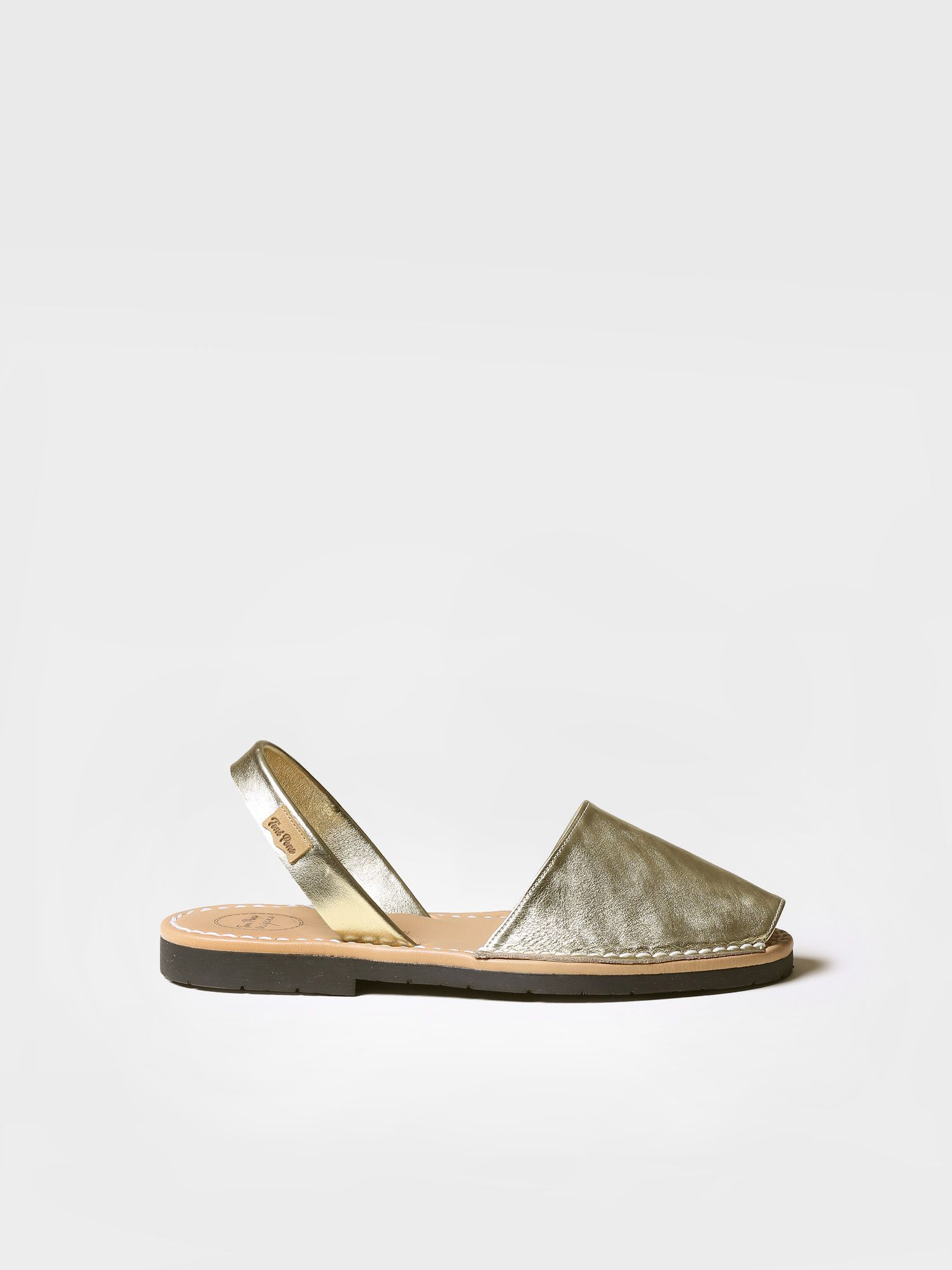 Leather avarca sandal - MAO-P