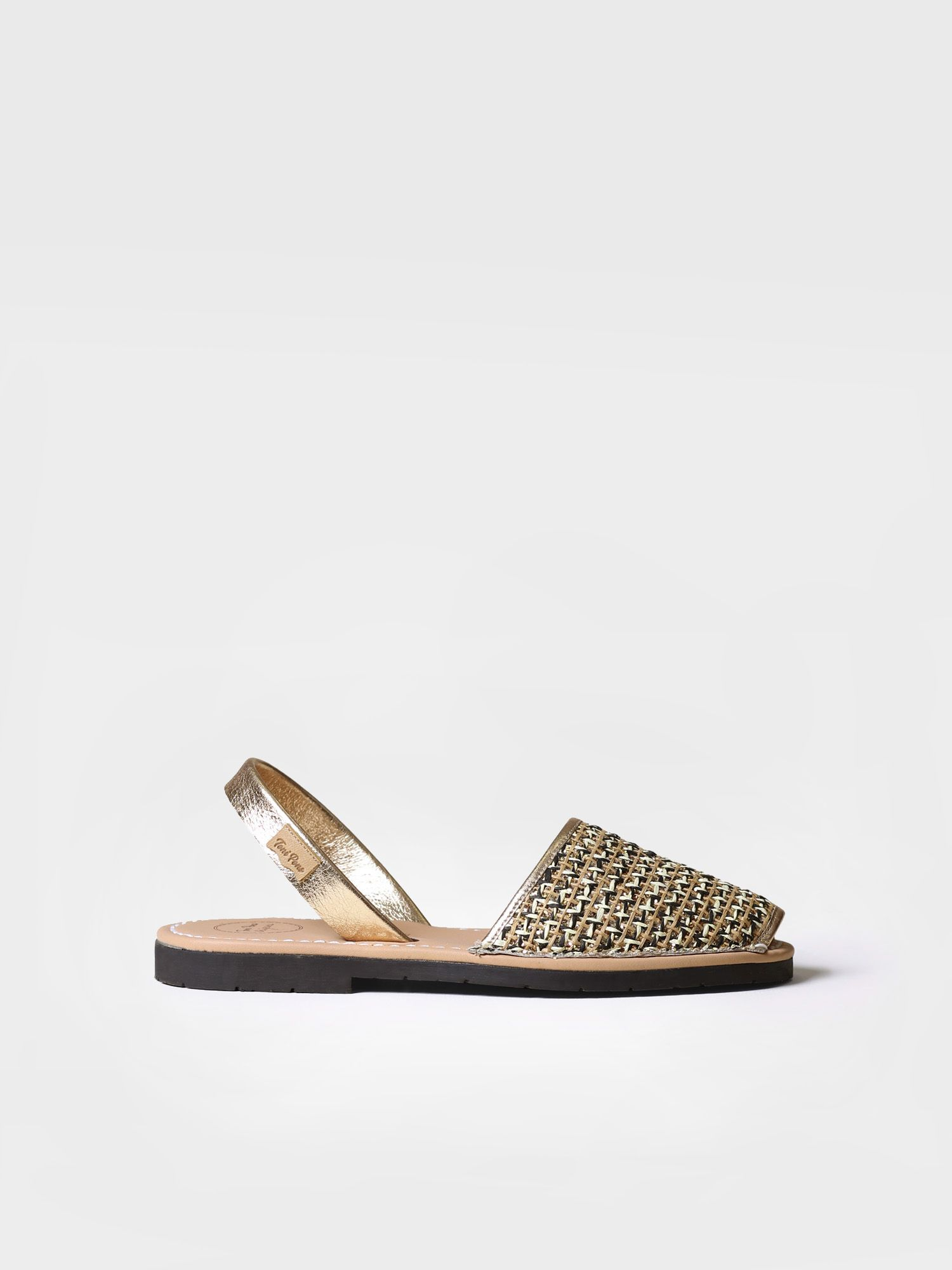 Leather avarca sandal - MAO-PA