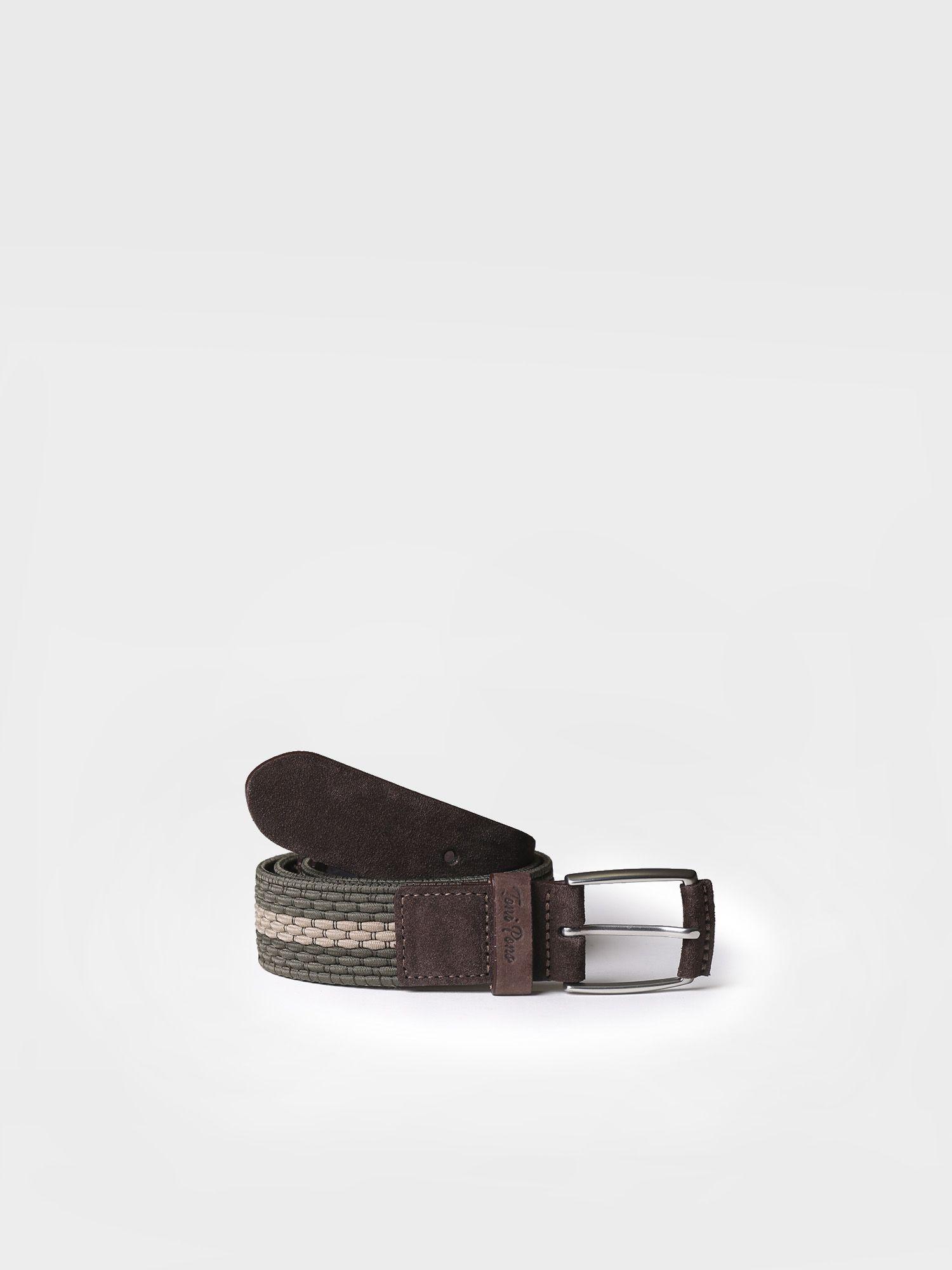 Multicoloured elastic belt - ENZO