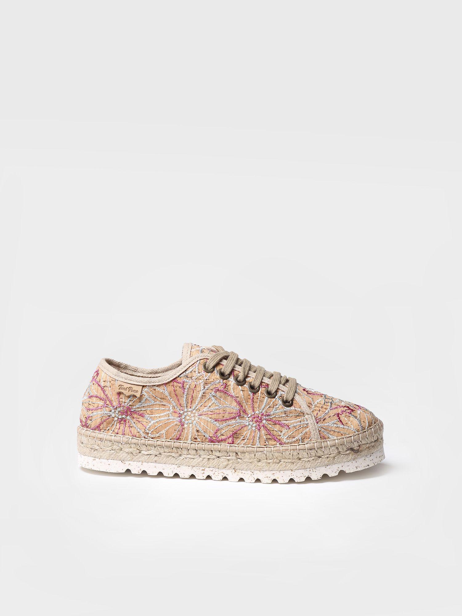 Sporty lace up espadrilles - FAR-BI