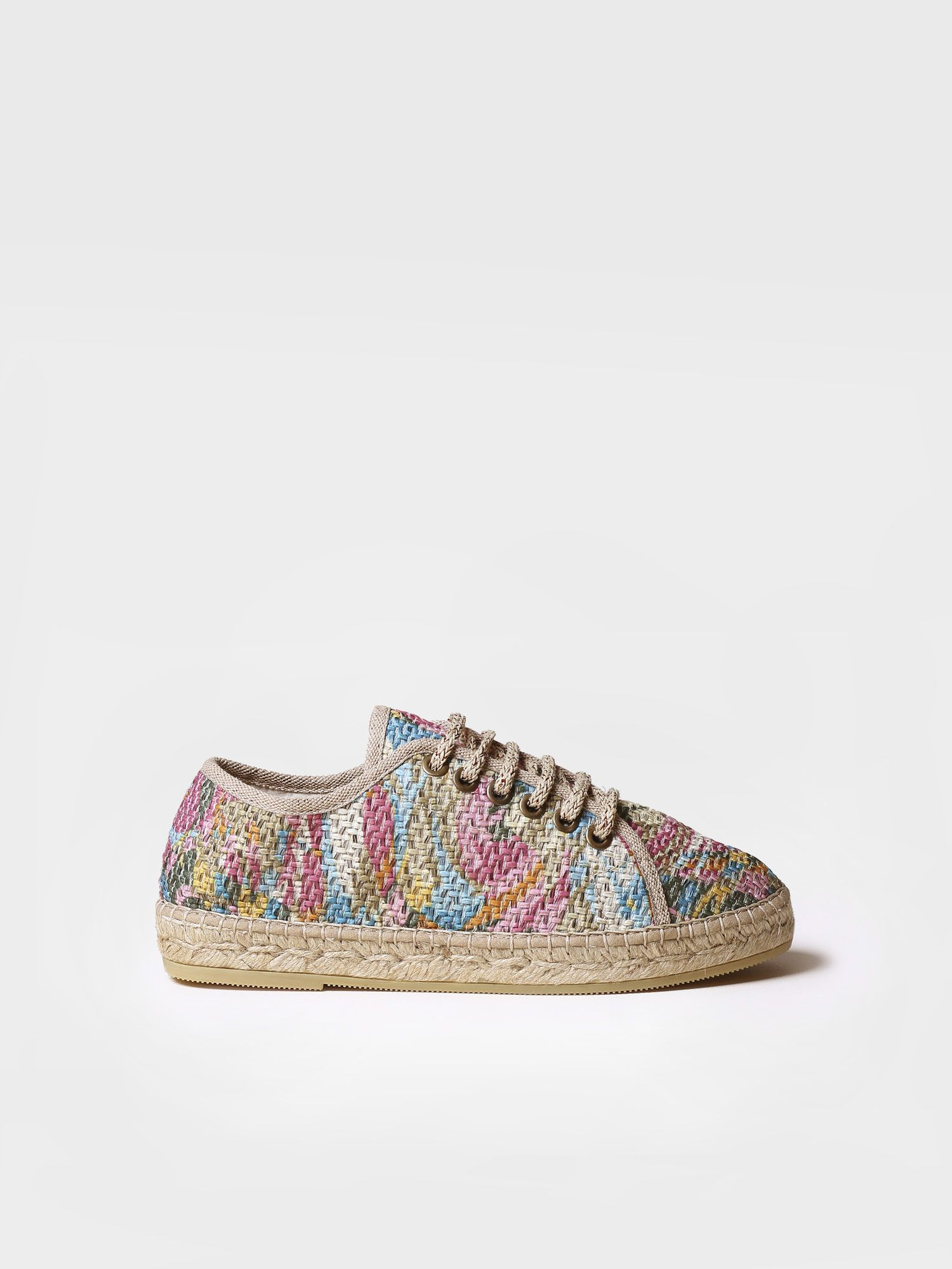 Sporty lace up espadrilles - FAR-PK