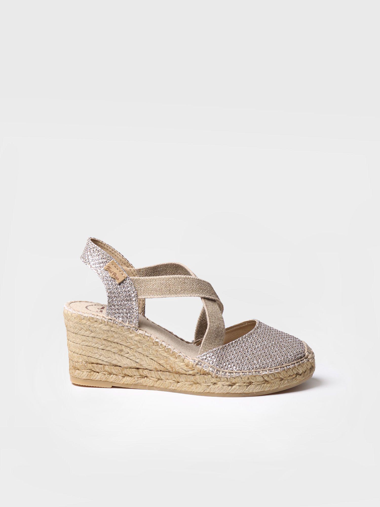 Vegan espadrilles heel - SABA-S