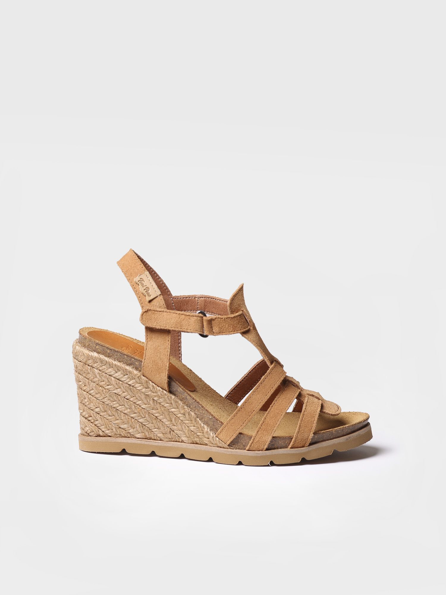 High wedge in suede - DAVA