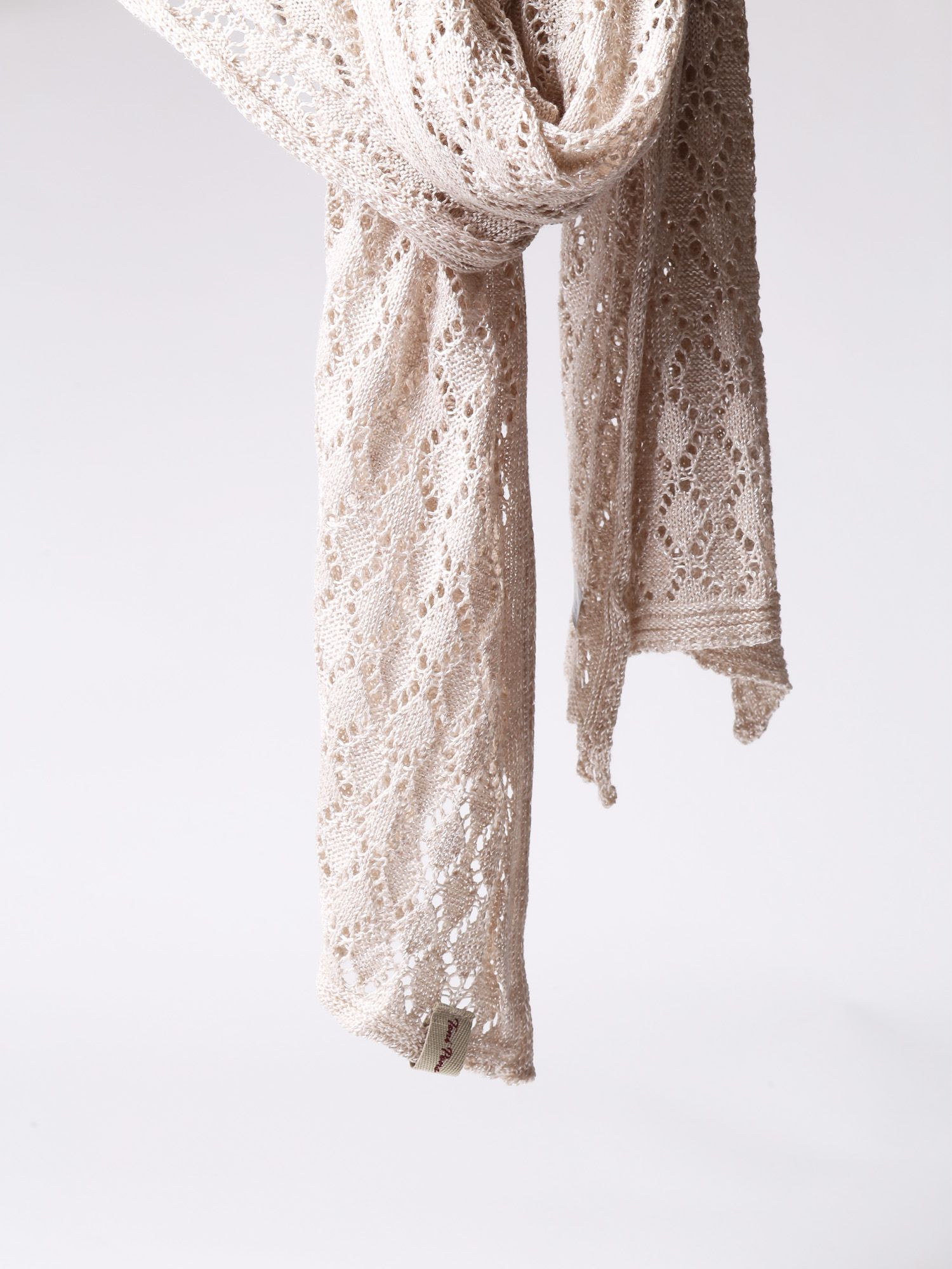Women's foulard in knit - FINA
